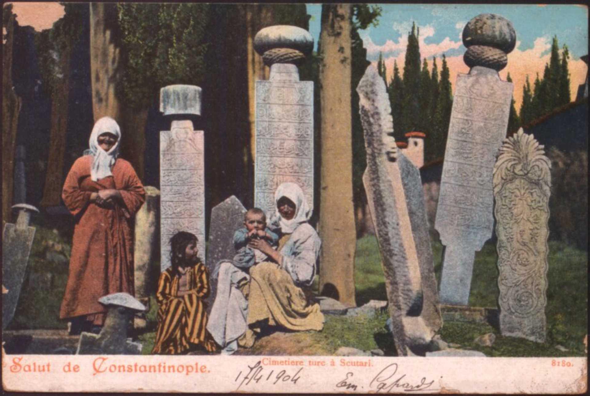 Cimetiere turc a Scutari