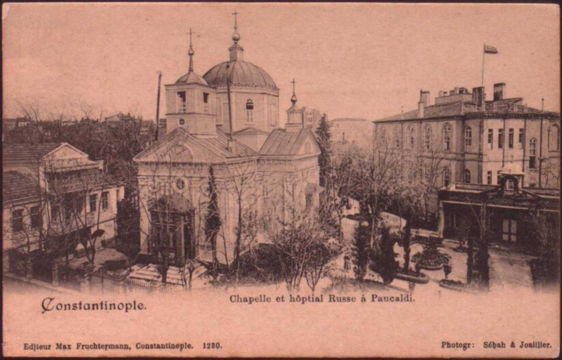 Chapelle et hoptial Russe a Paucaldi