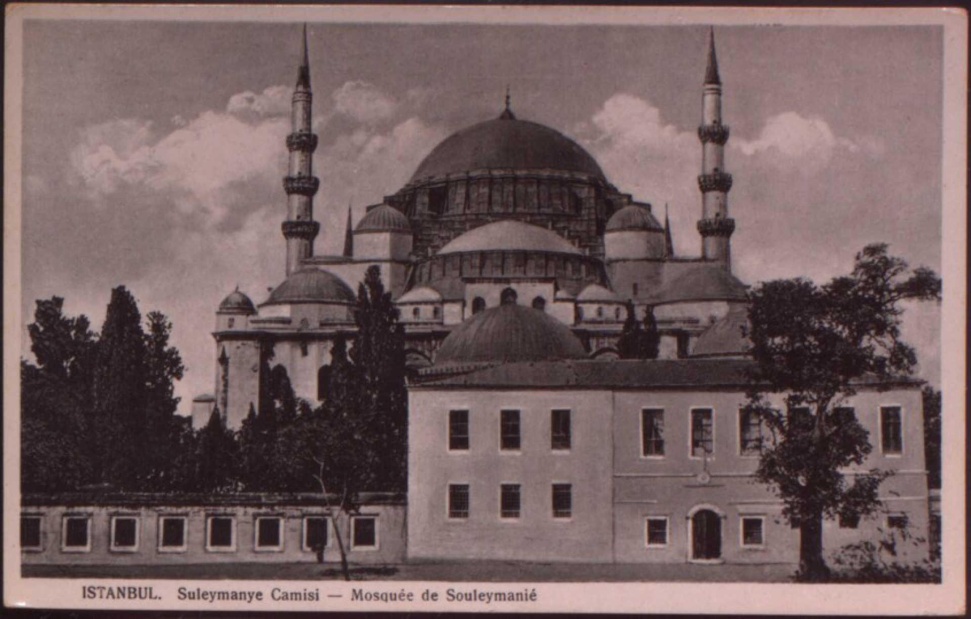 Süleymaniye Camii – Mosquee de Souleymanie