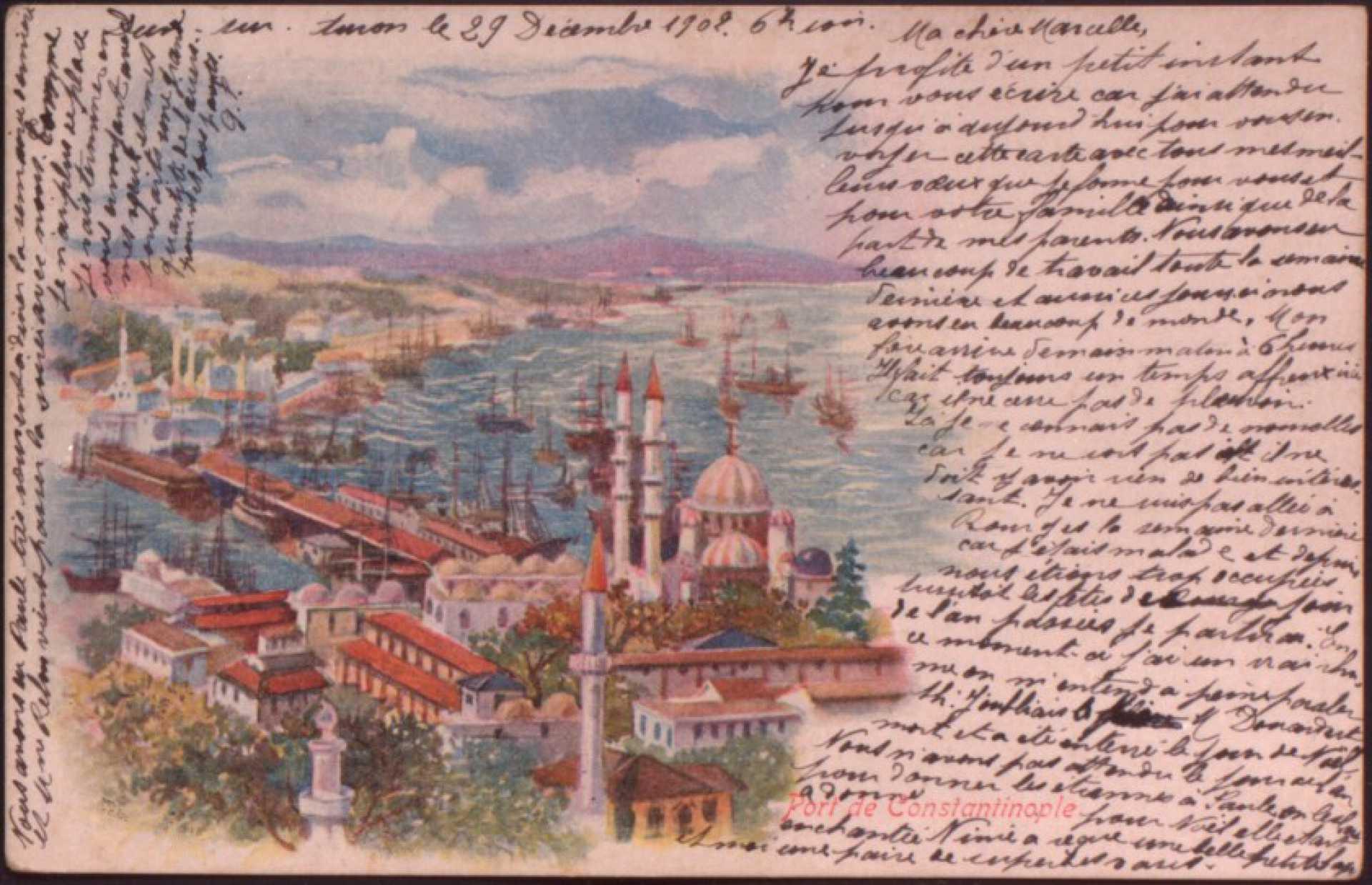 Port de Constantinople