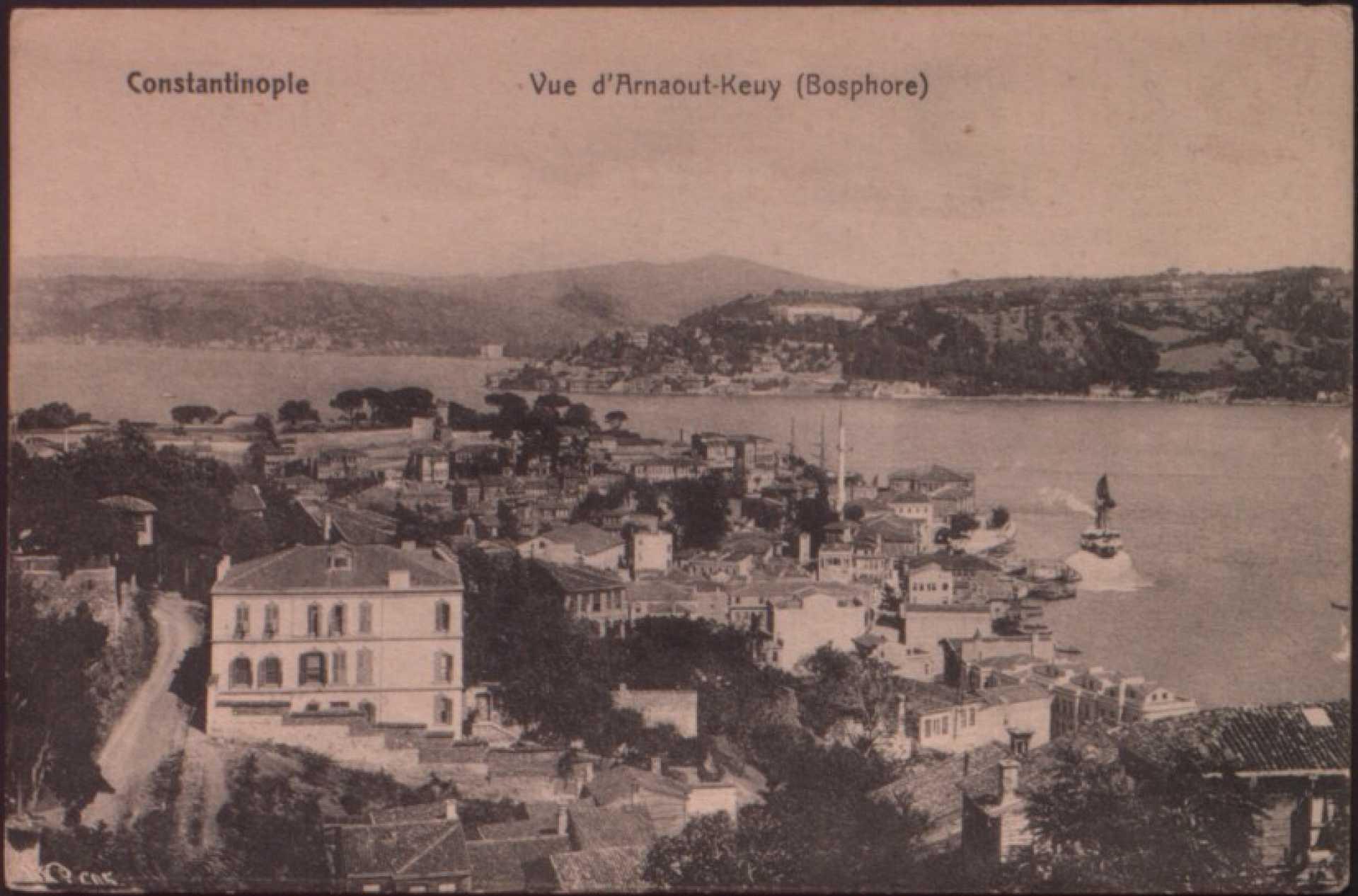 Vue d'Arnaout-Keuy (Bosphore)