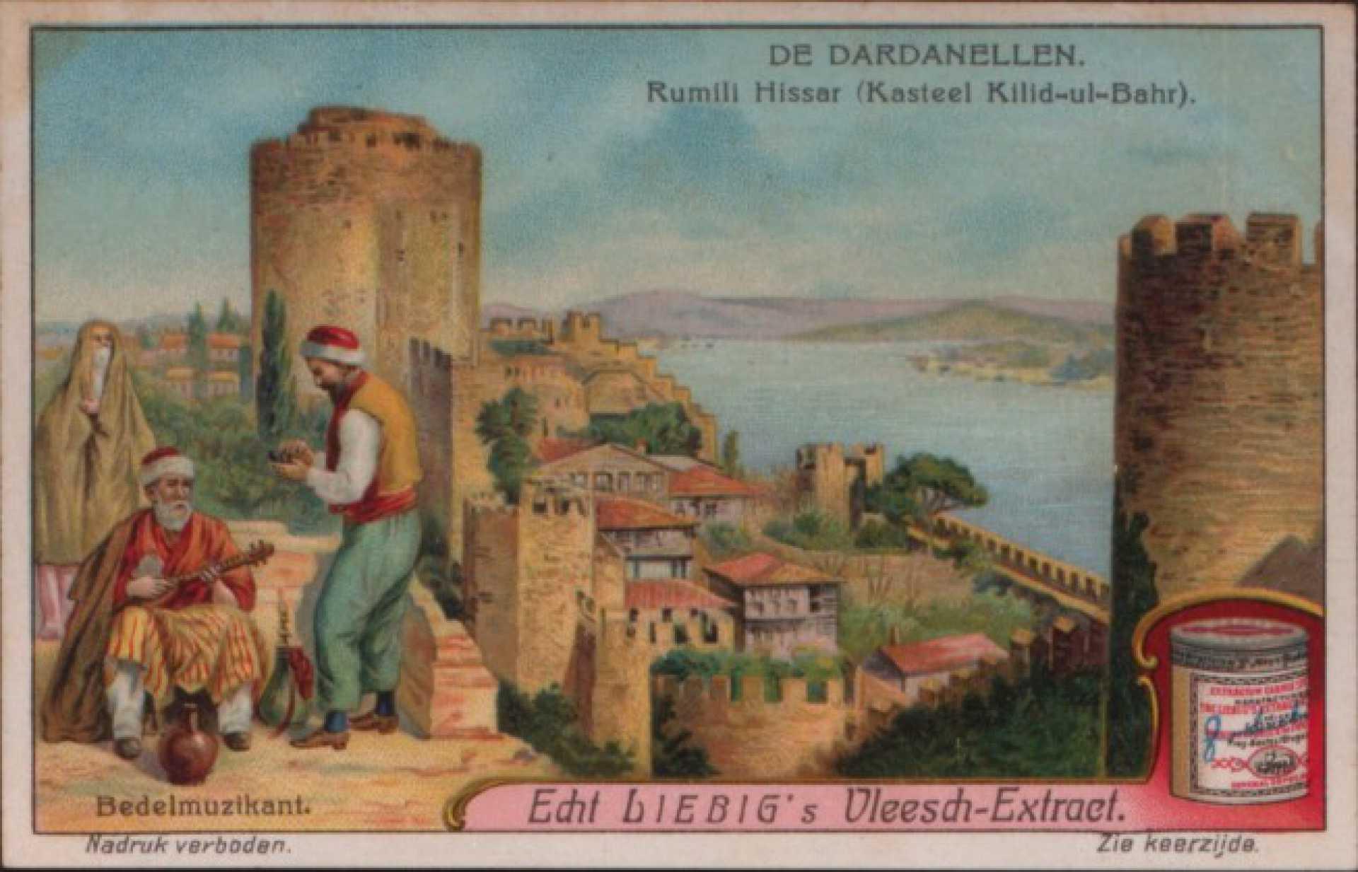 De Dardanellen Rumili Hissar (Kasteel Kilid-ul-Bahr)