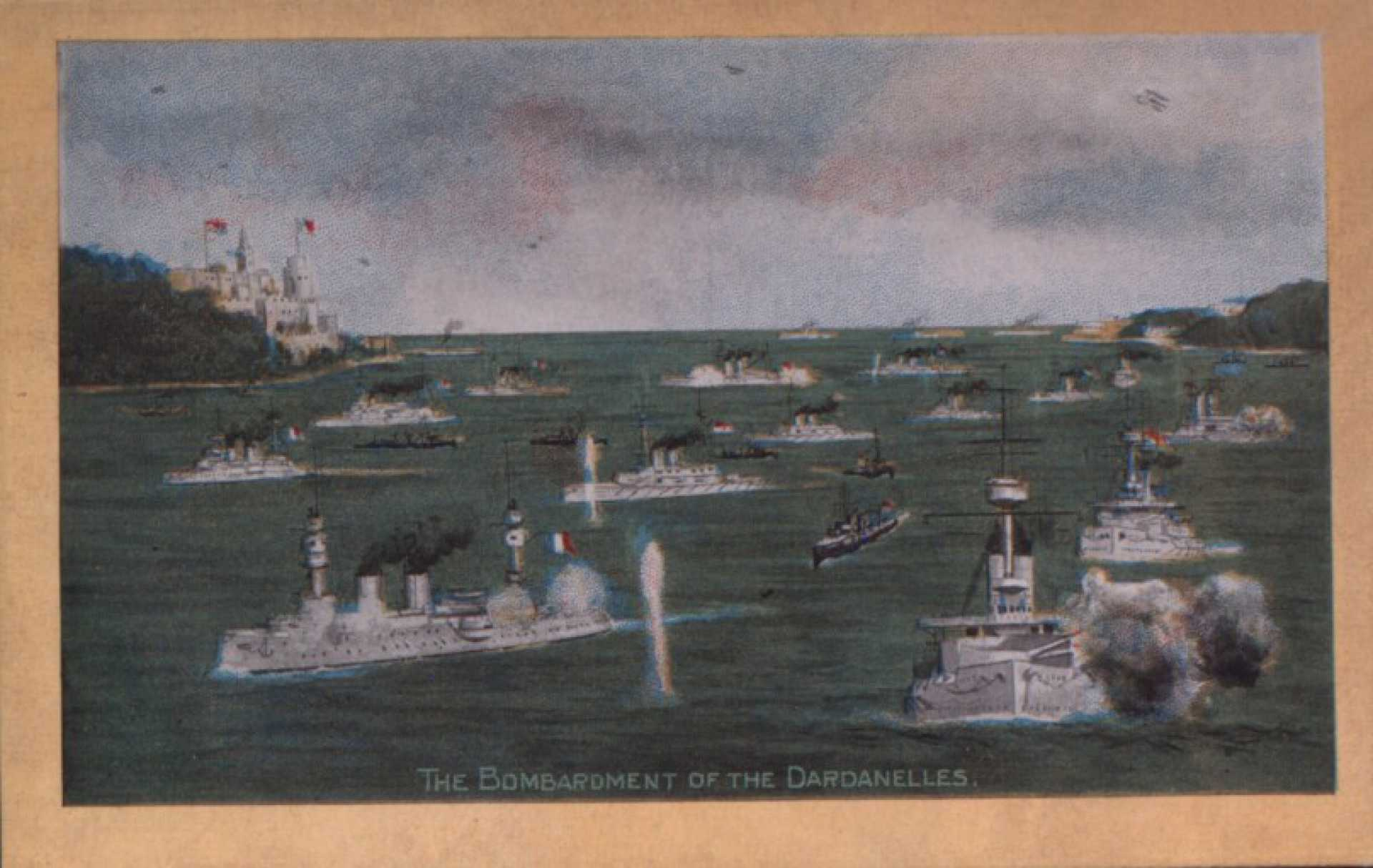 The Bombardment of the Dardanelles