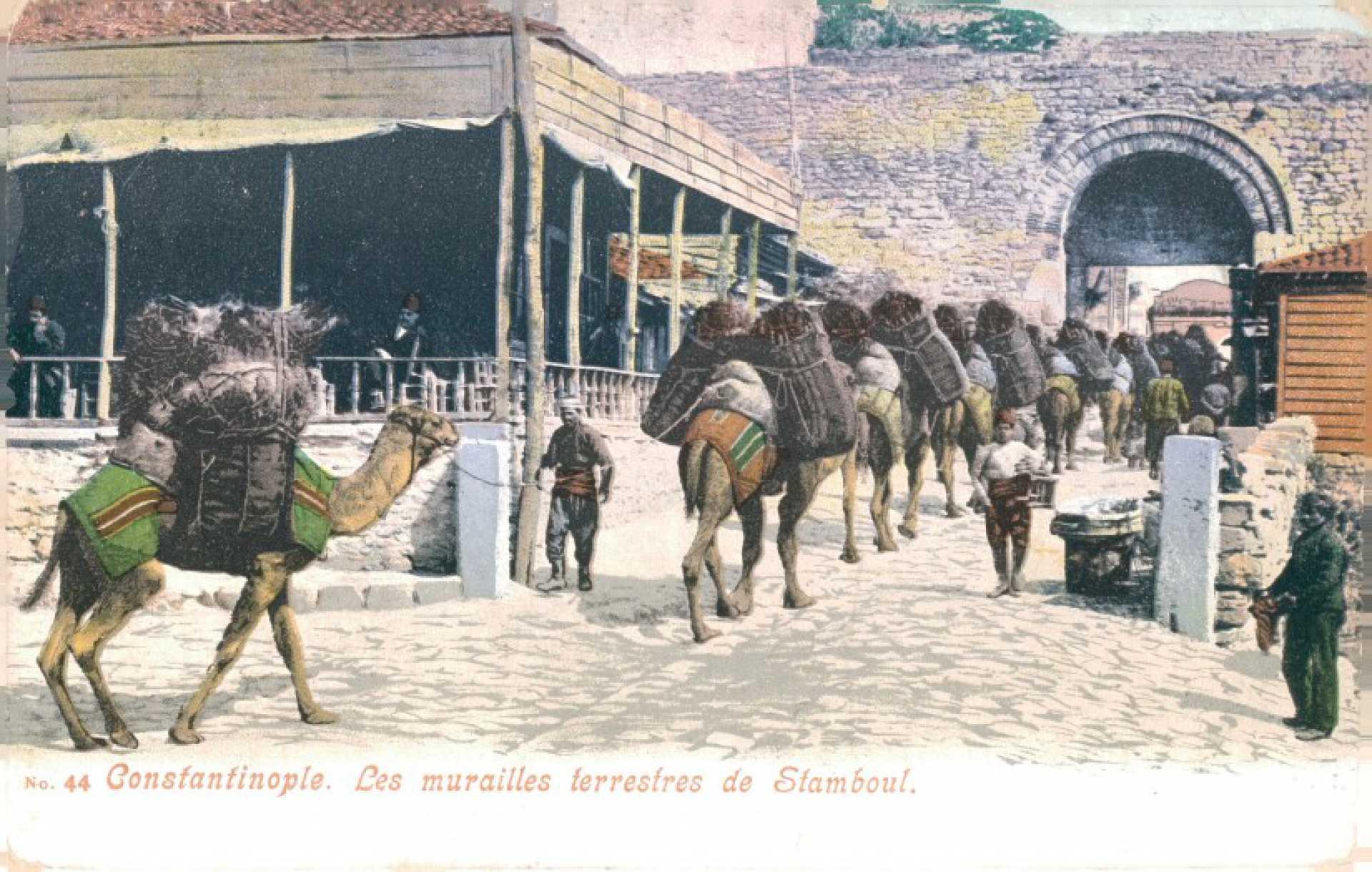 Les murailles terrestres de Stamboul