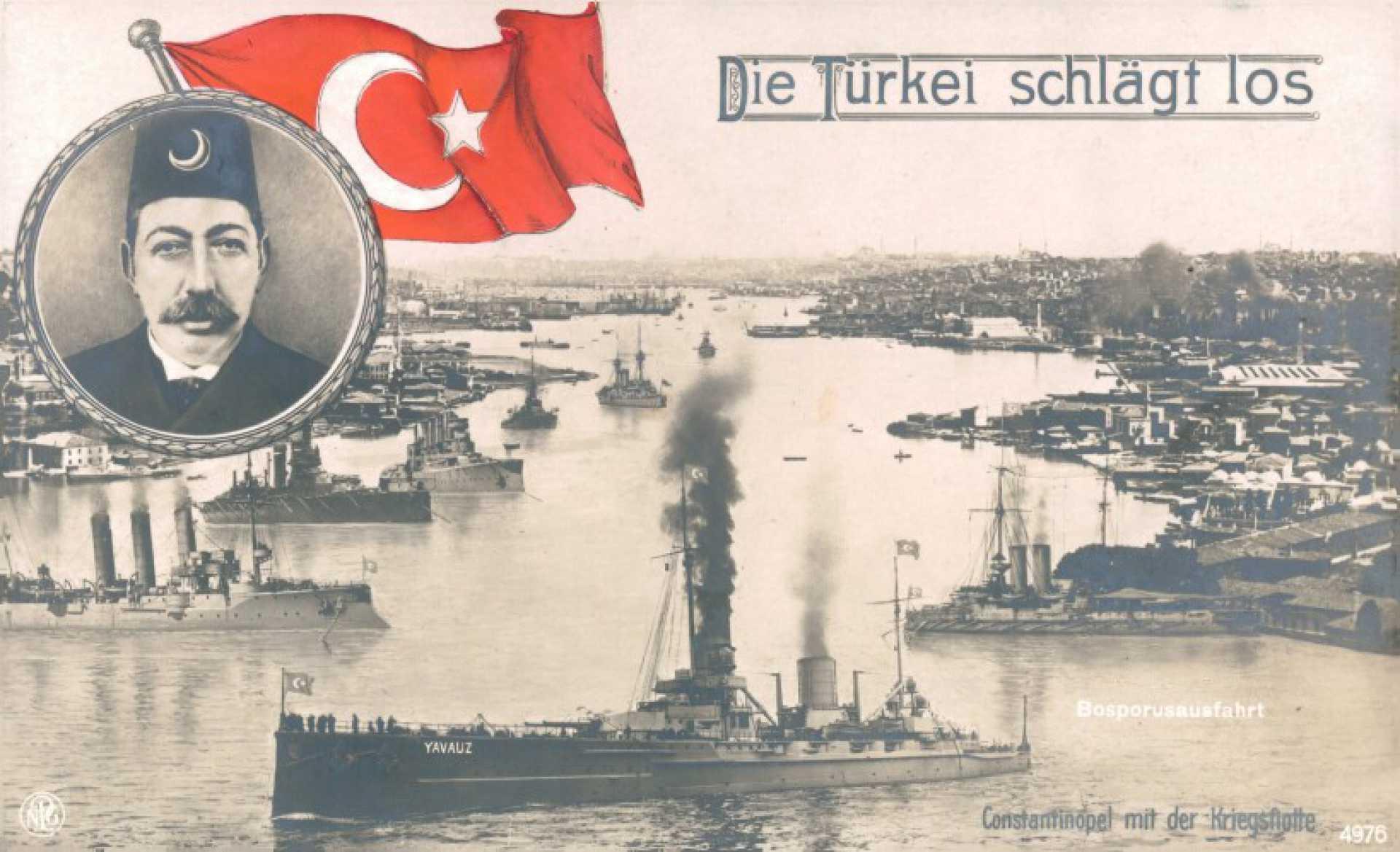 Die Türkie schlagt los