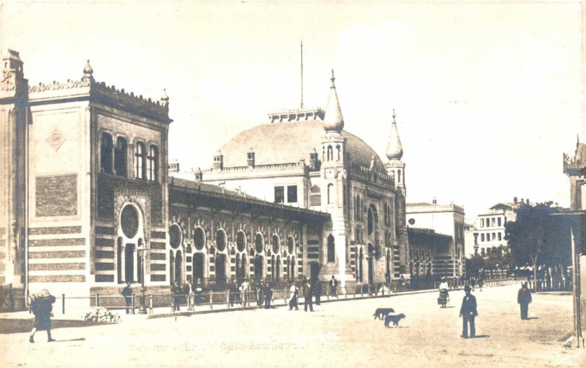 Gare des Chemins de fer odentaur à Constple