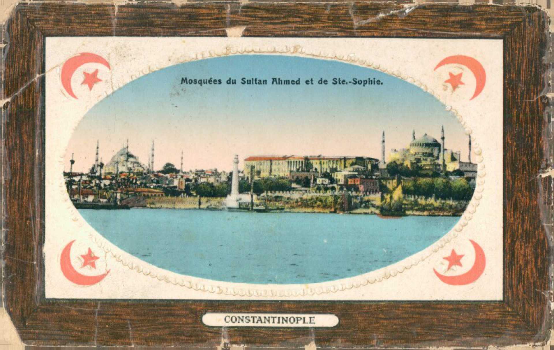 Mosquees du Sultan Ahmed et de Ste. – Sophie