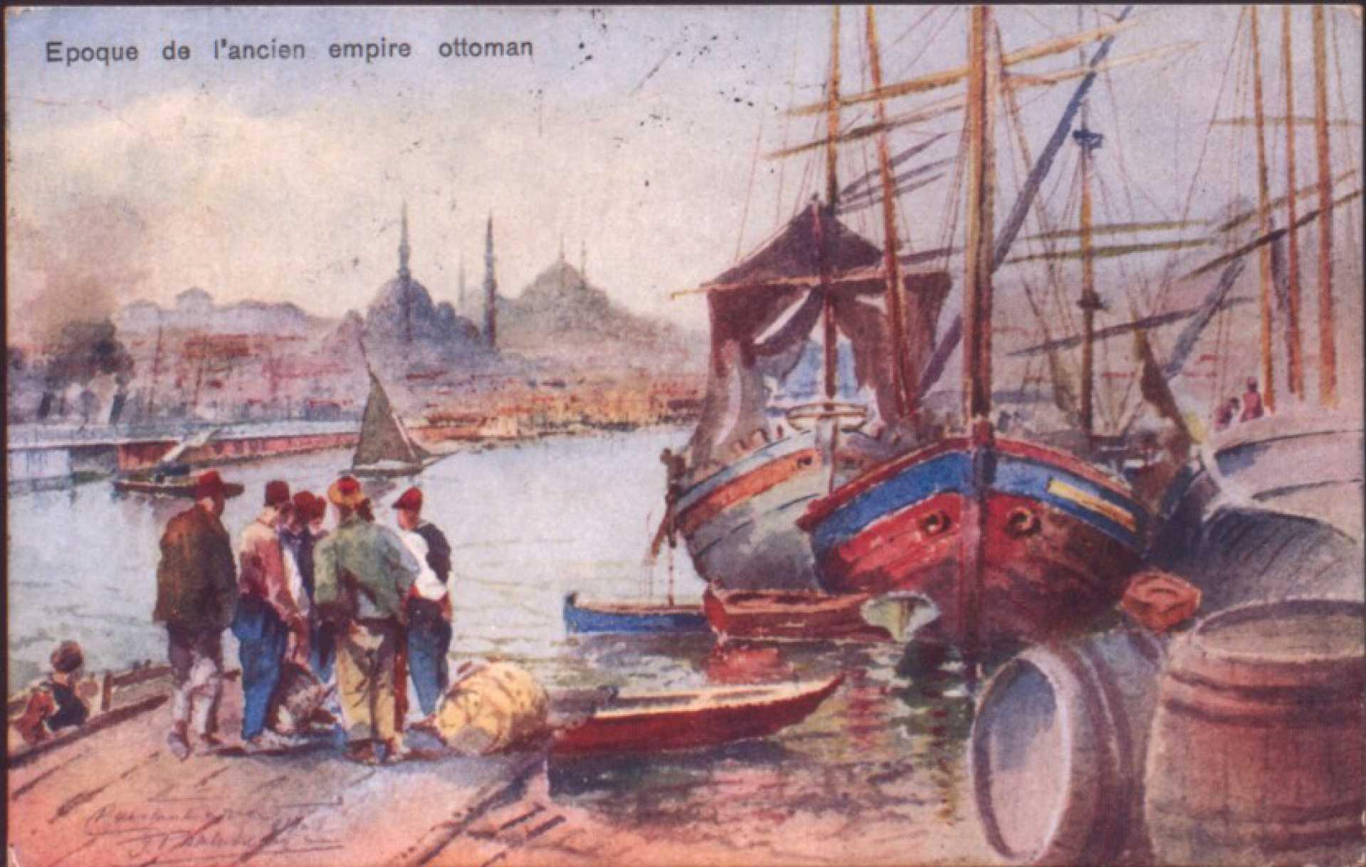 Epoque de l'ancien empire ottoman