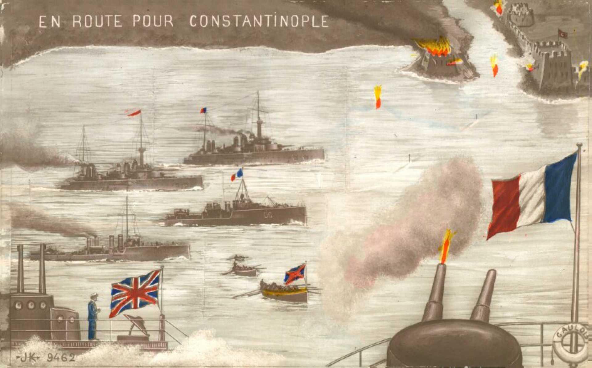 En route pour Constantinople