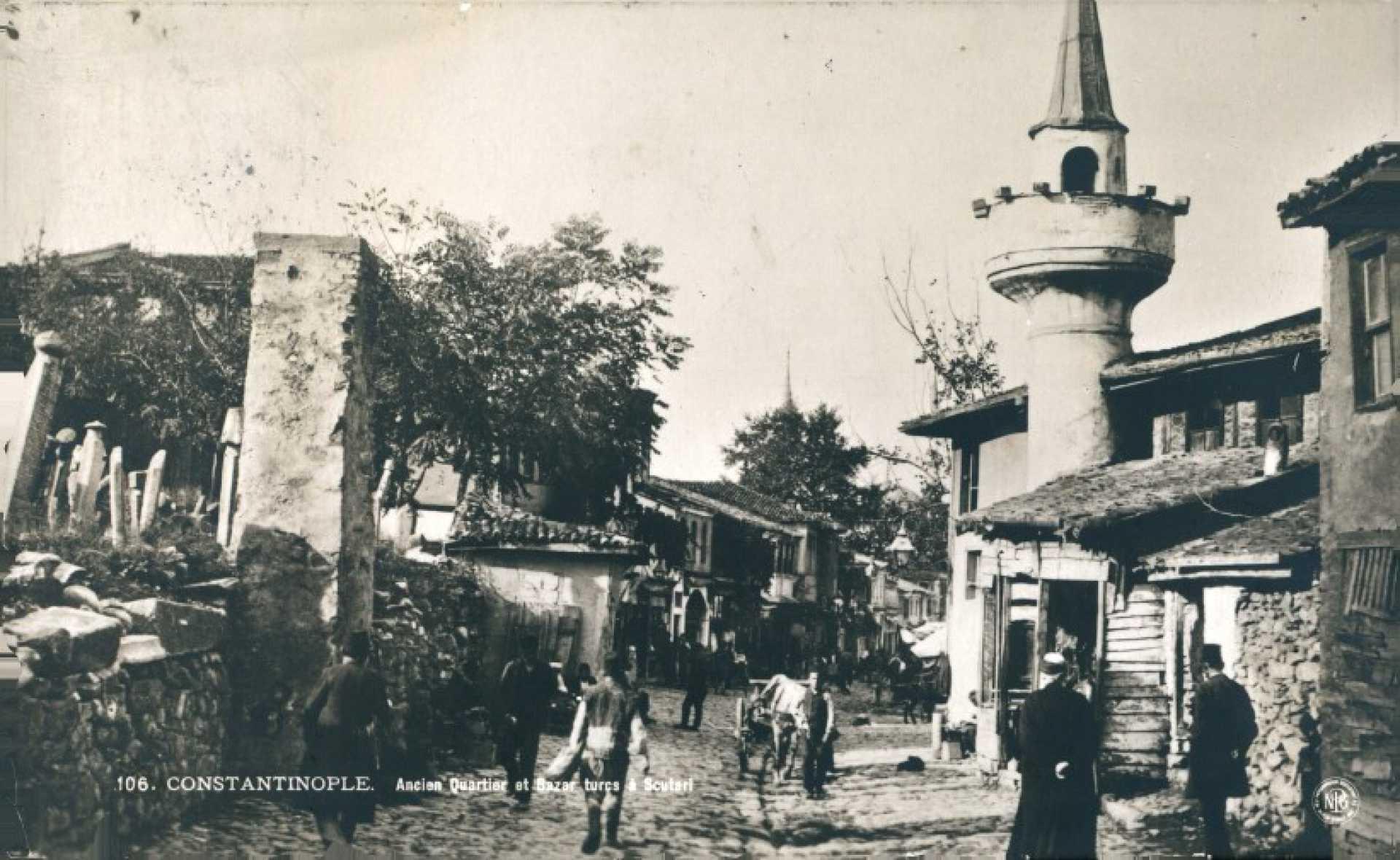 Ancien quartier et bazar turcs a Scutari