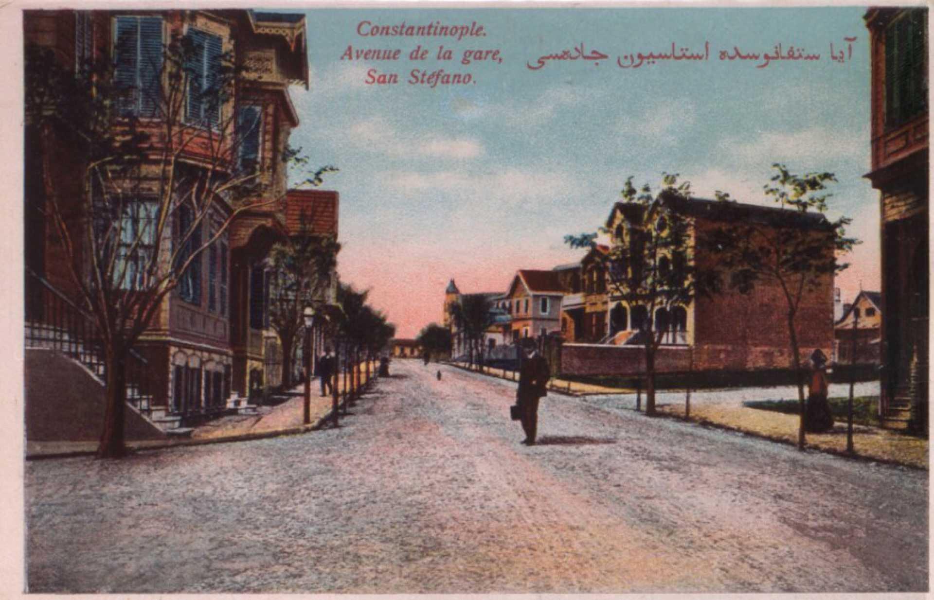 Avenue de la gare. San Stefano