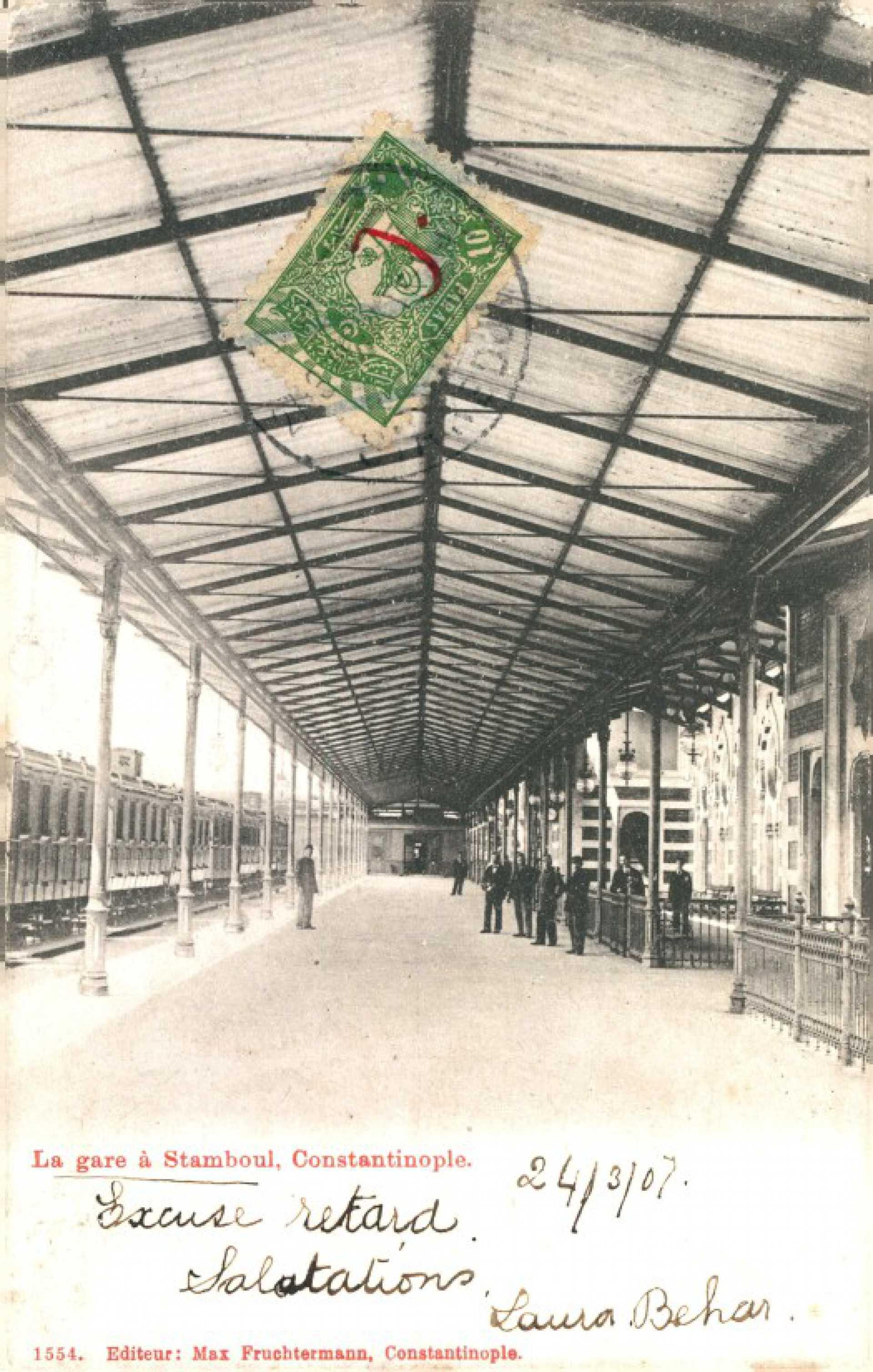 La gare a Stamboul