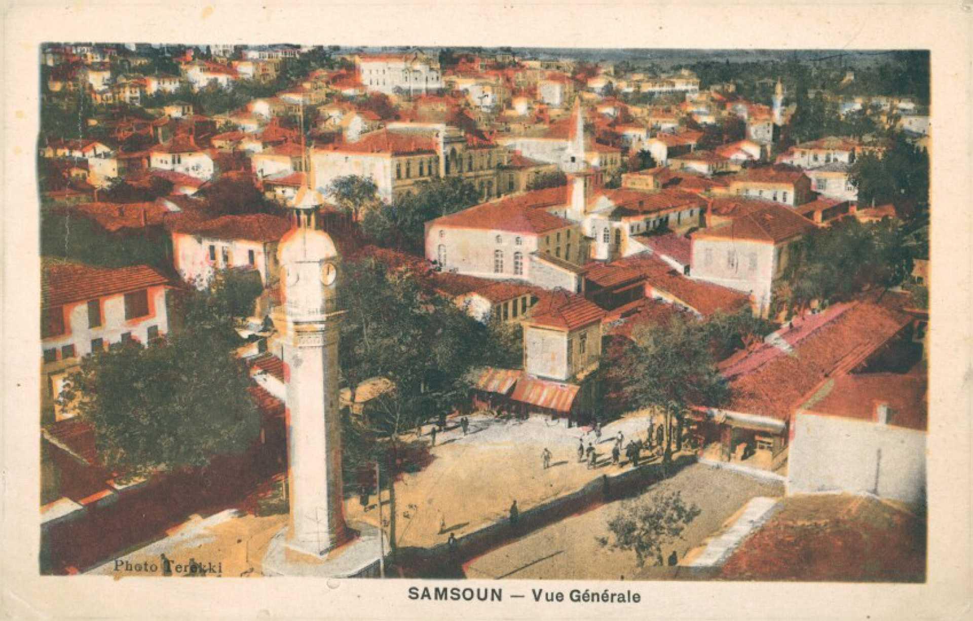 Samsoun – vue generale