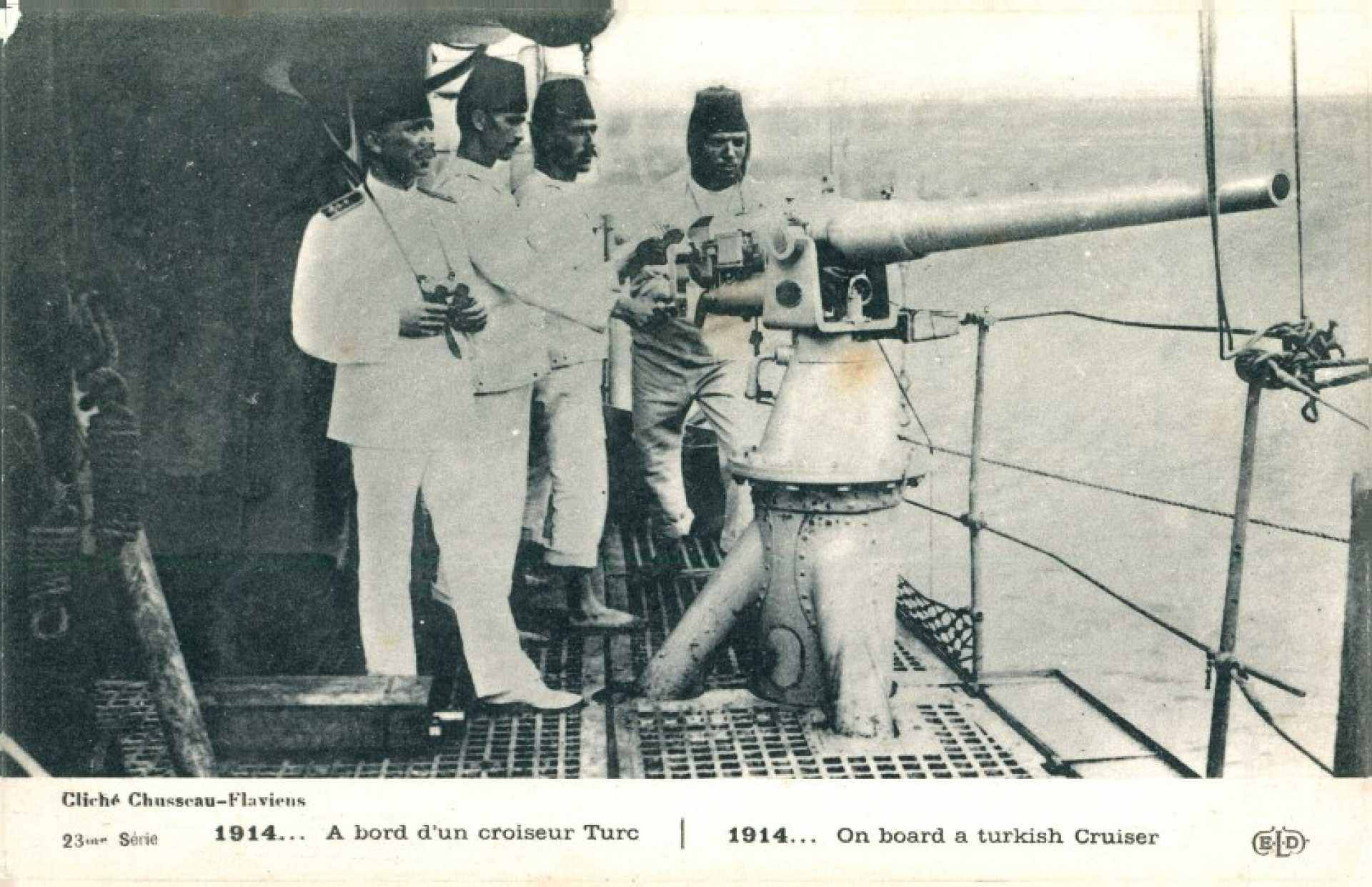 Cliche Chusscau – Flaviens  1914