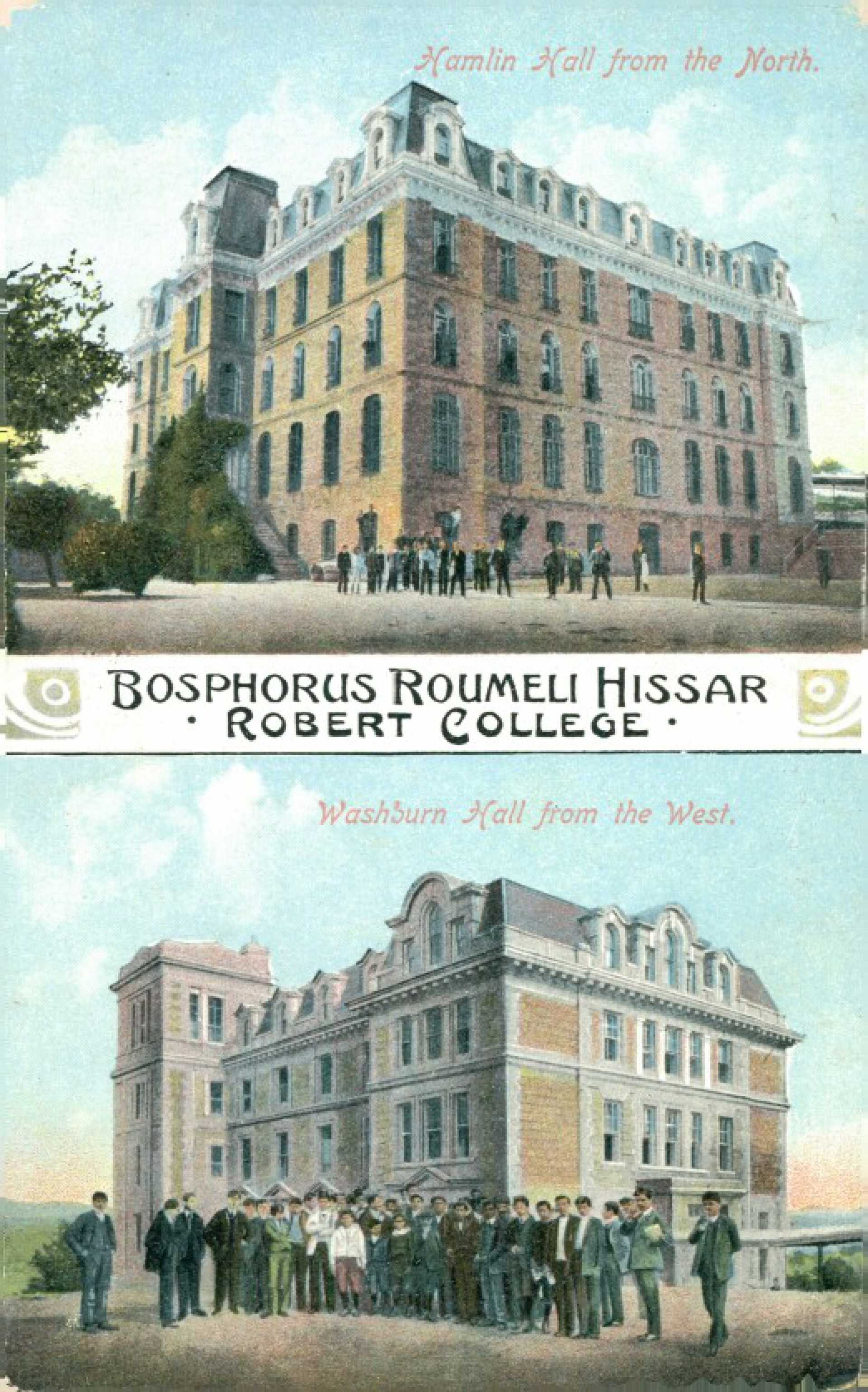 Bosphorus Roumeli Hissar Robert College