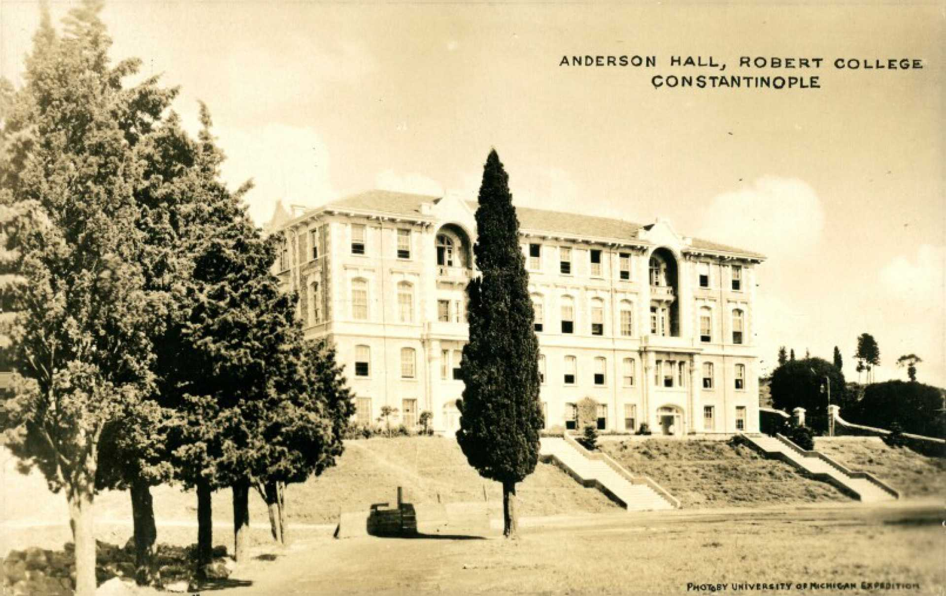 Anderson Hall. Robert College