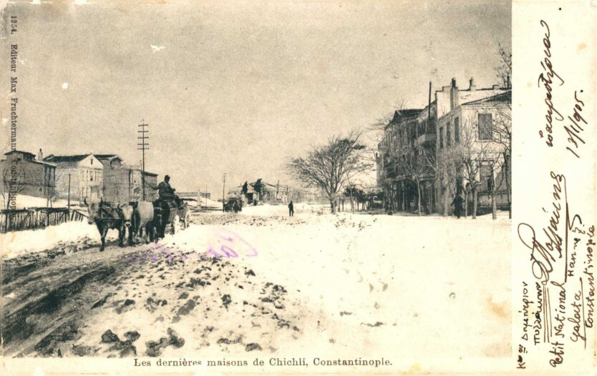 Les dernieres maisons de Chichli