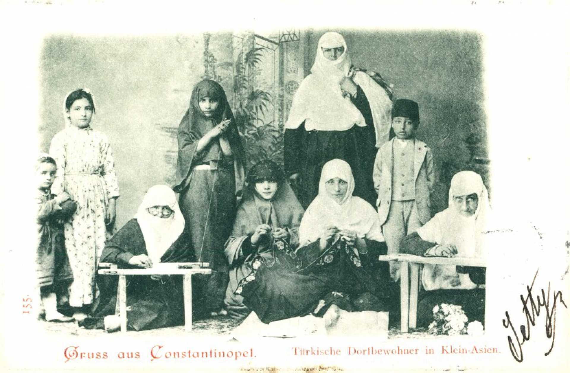 Türkische Dortbewohner in Klein-Asien