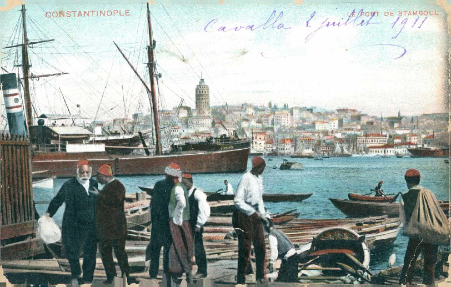 Le port de Stamboul