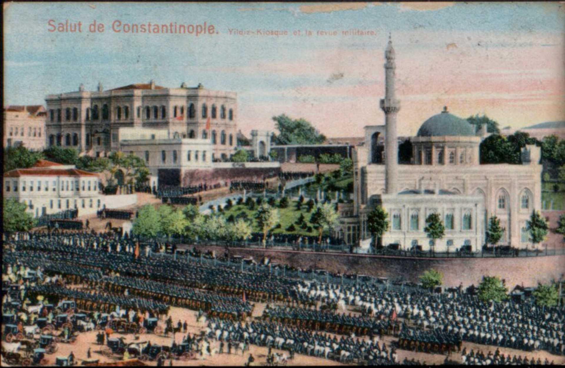 Yildiz-Kiosque et la revue militare