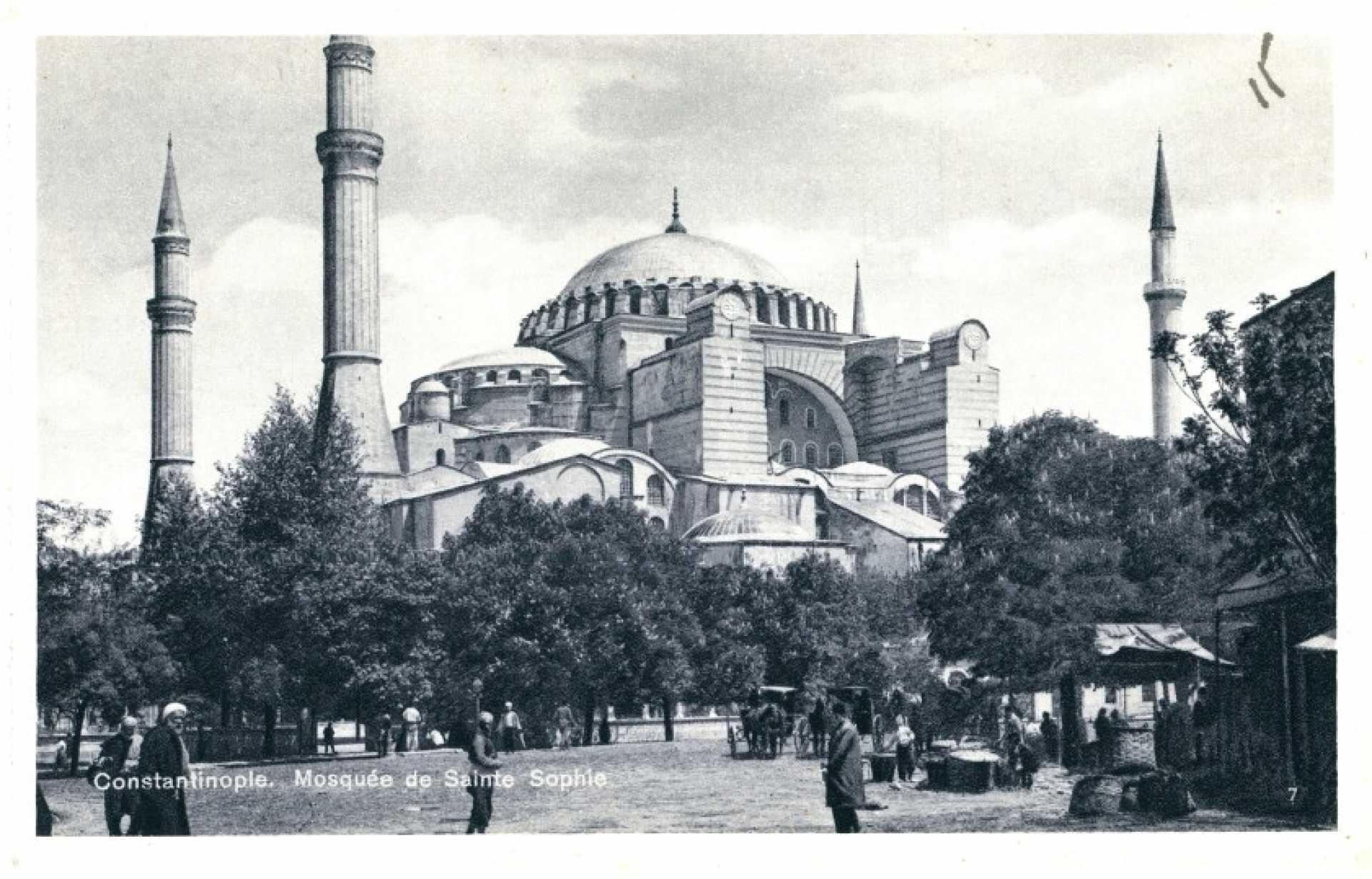 Mosquee de Sainte Sophie