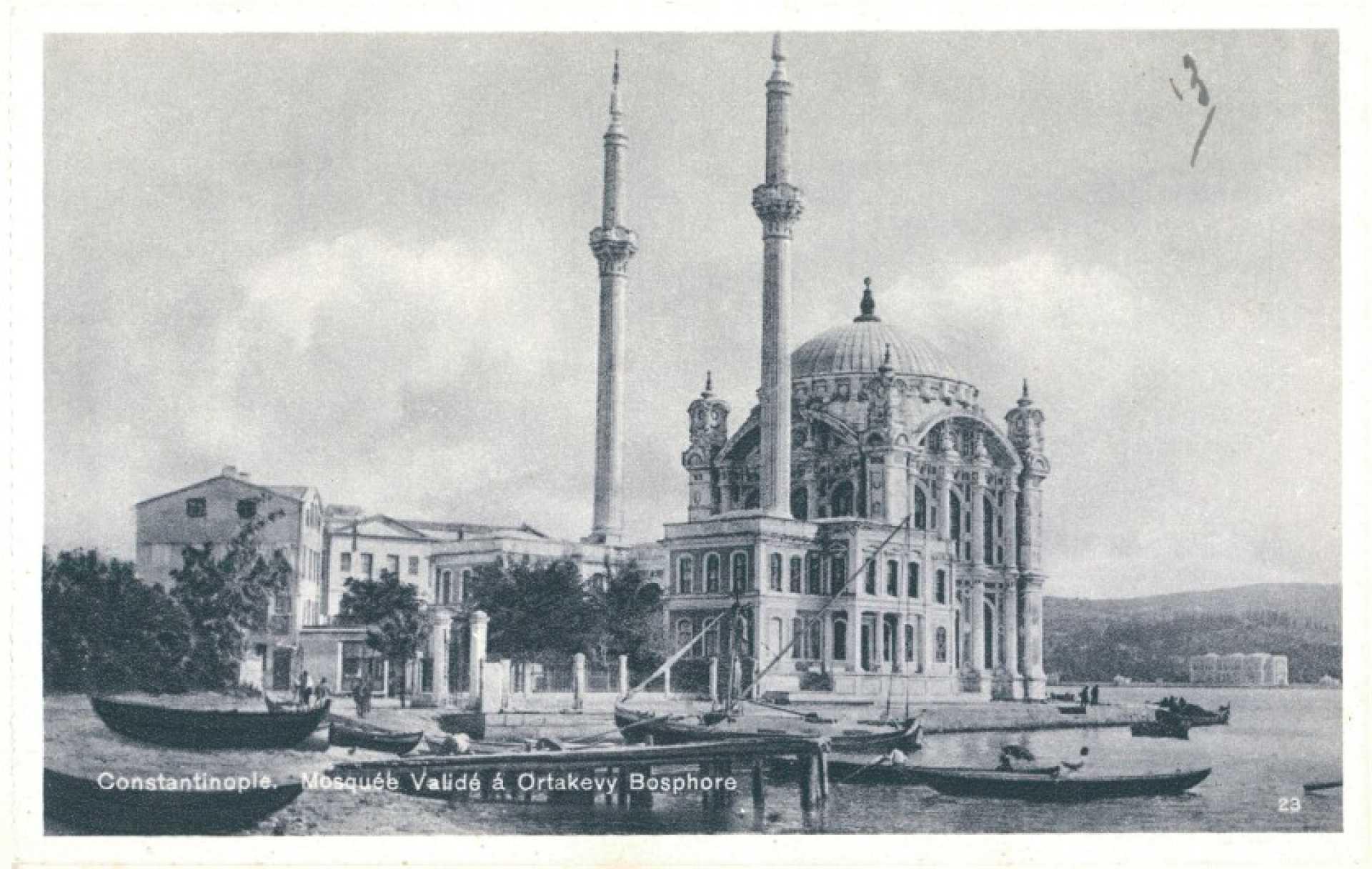 Mosquee Valide a Ortakeuy Bosphore