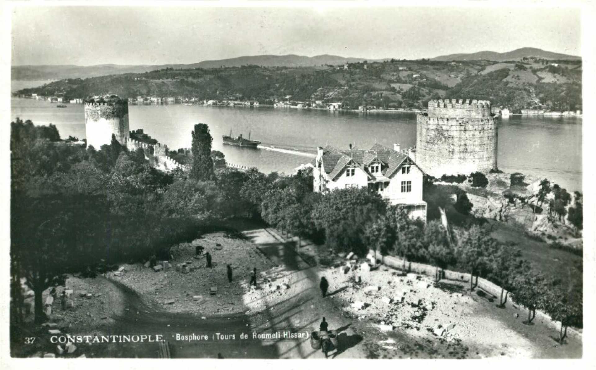 Bosphore. Tours de Roumeli-Hissar