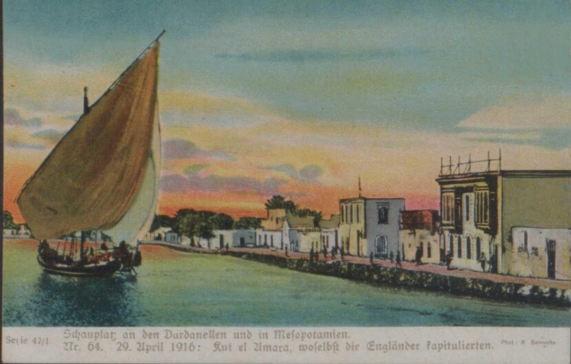 Sdjauplat an den Dardanellen und in Mefopotamien