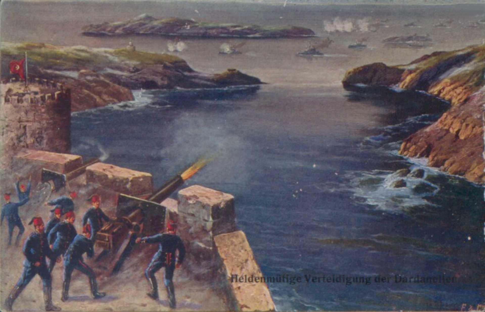 Heldenmütige Verteidigung der Dardanellen