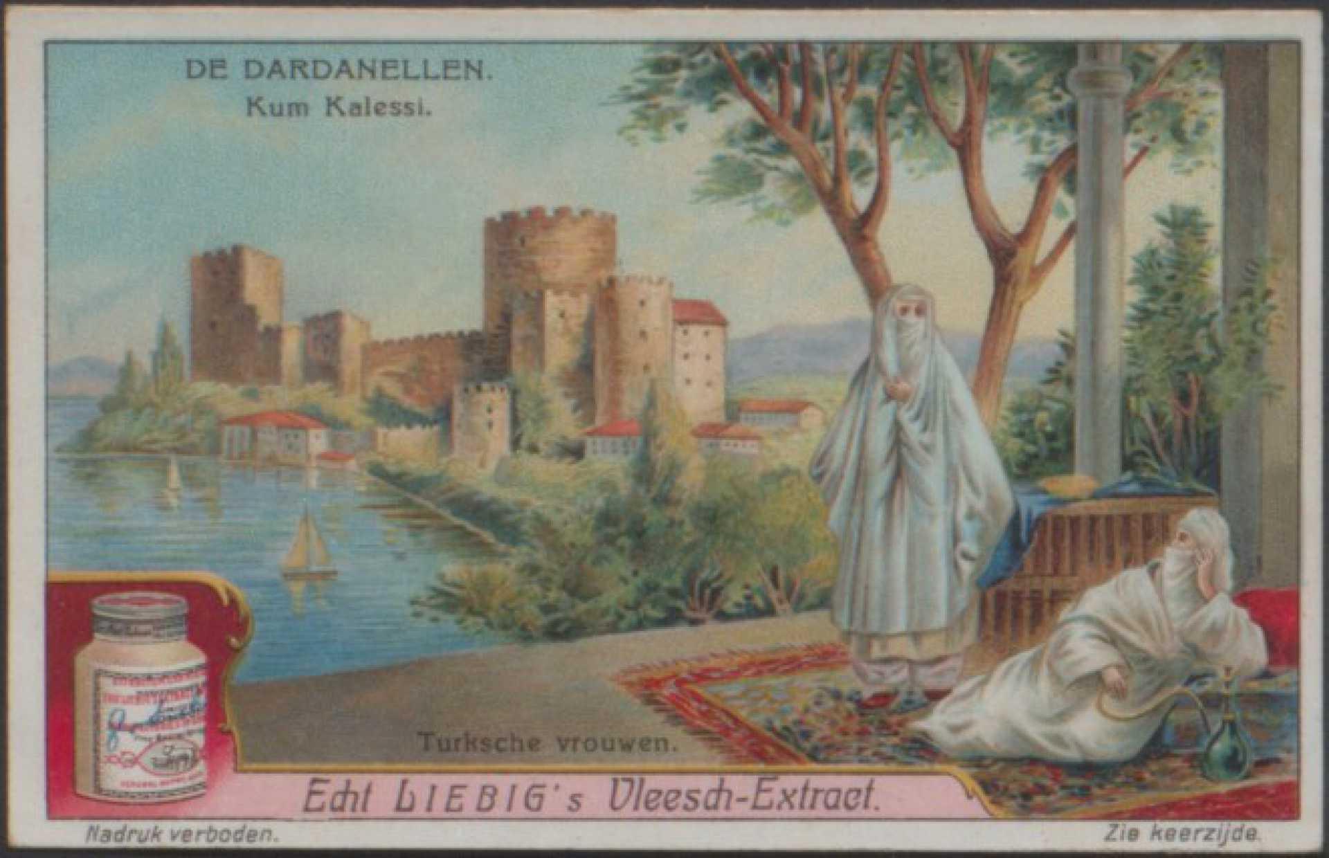 De Dardanellen. Kum kalessi