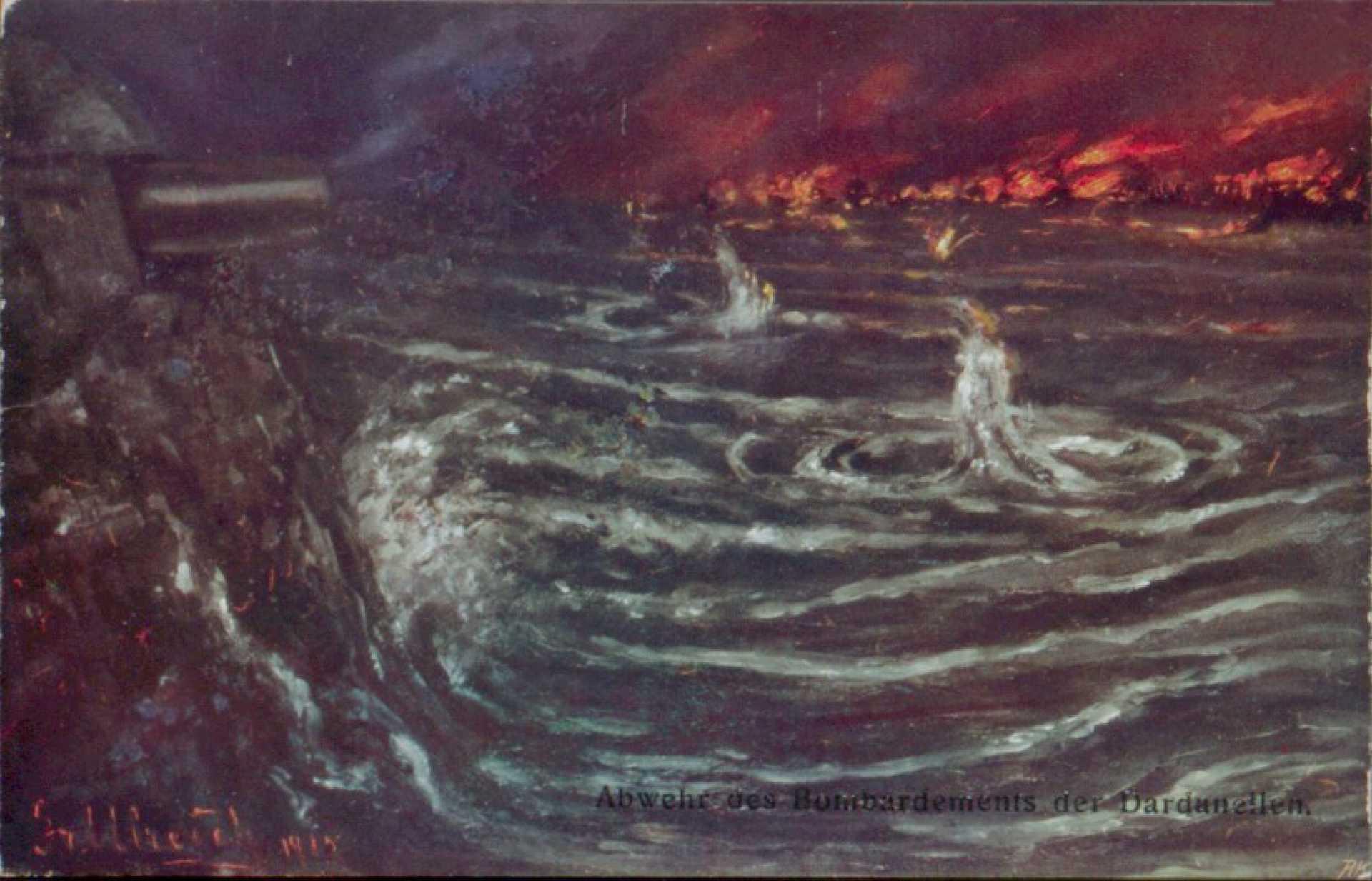 Abwehr des Bombardementd der Dardanellen