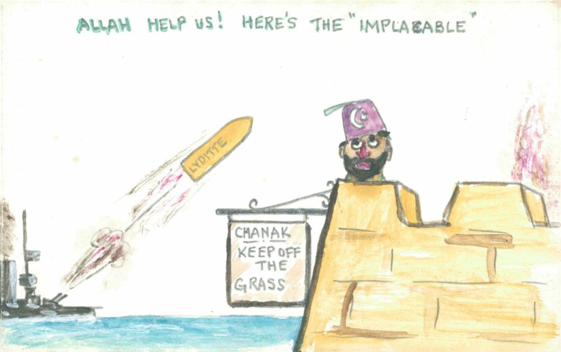 """""""Allah help us! Here's the """"""""implacable"""""""""""""""