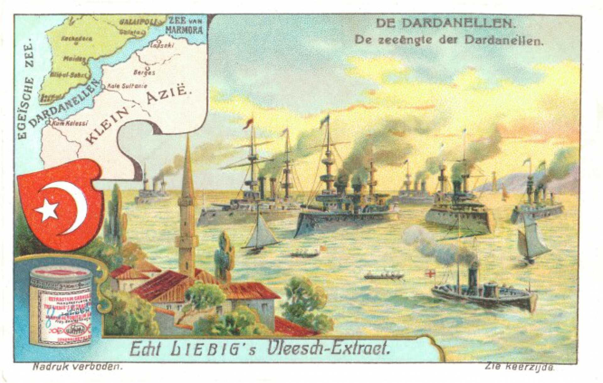 De zeeengte der Dardanellen