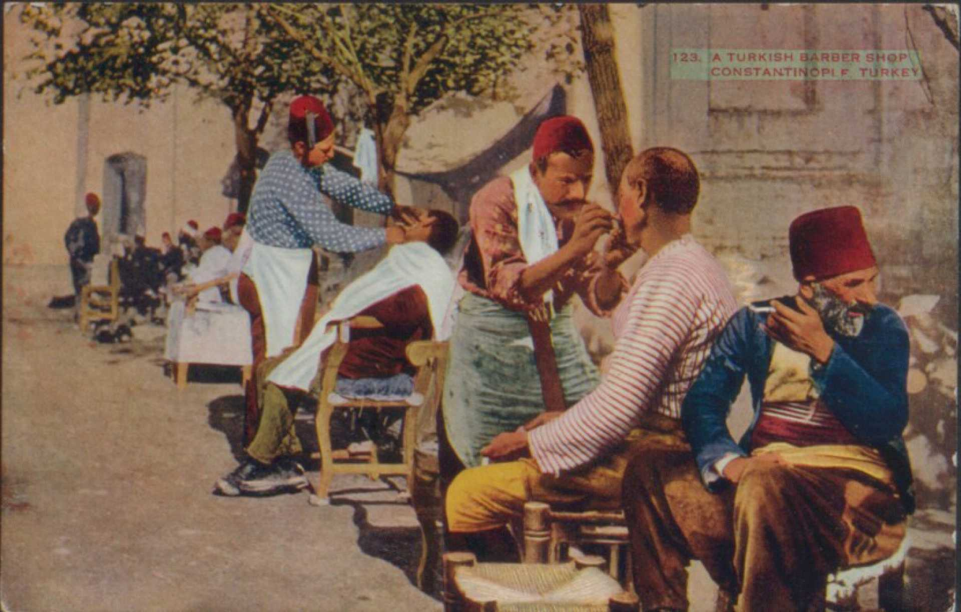 A turkish barber shop