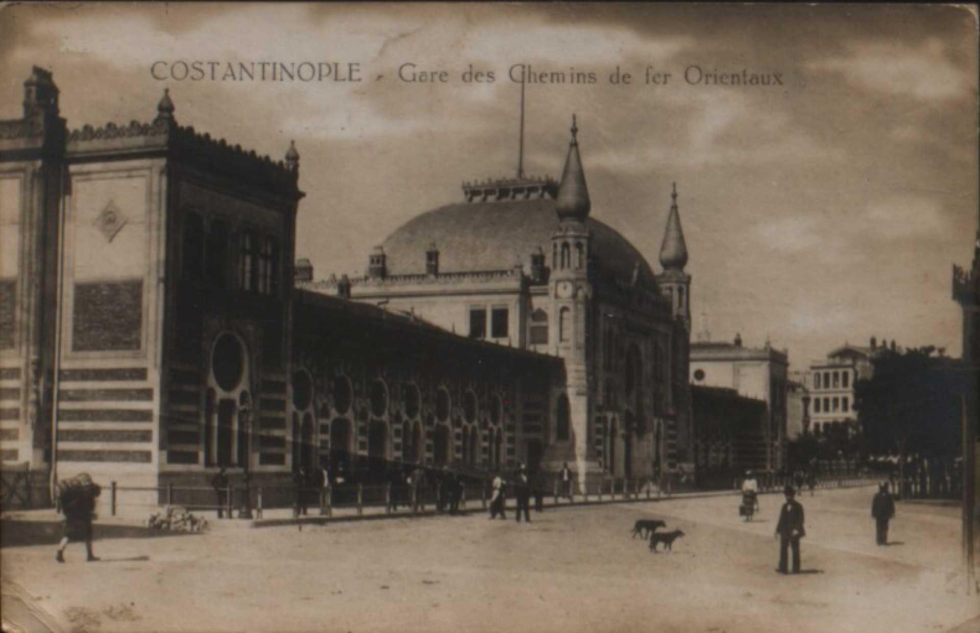 Gare des Chemins de fer Orientaux