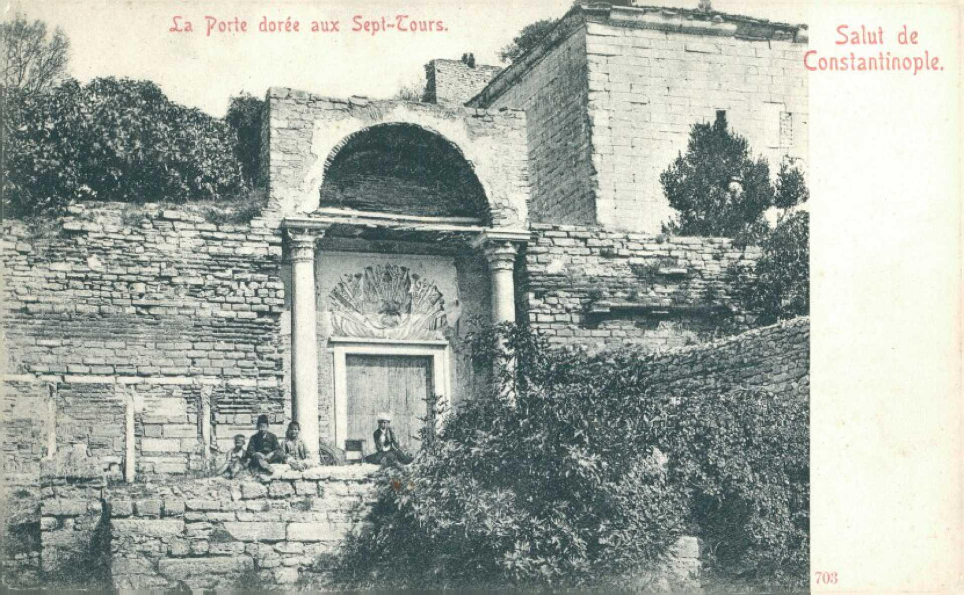 La Porte doree aux Sept-Tours