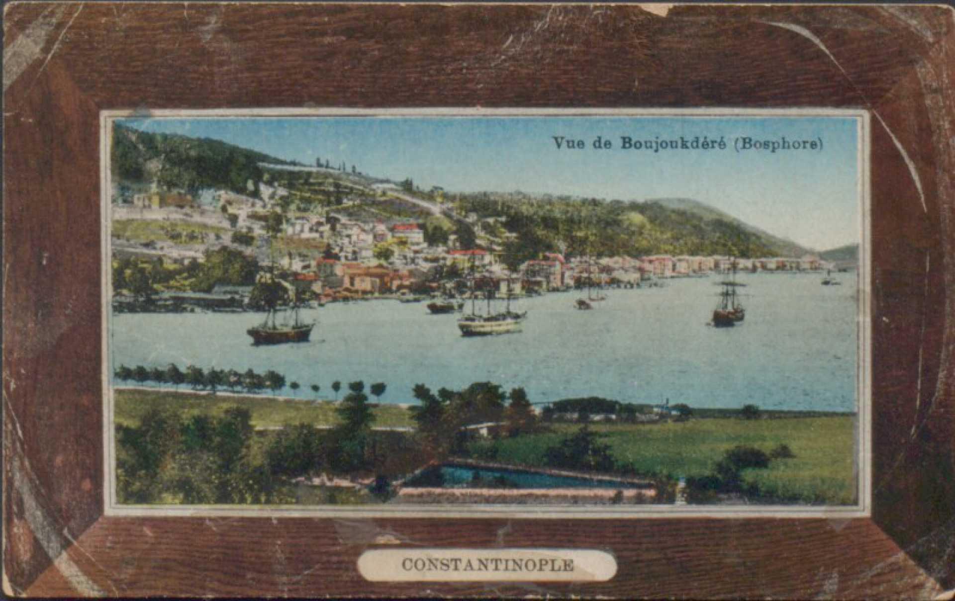 Vue de Boujoukdere (Bosphore)