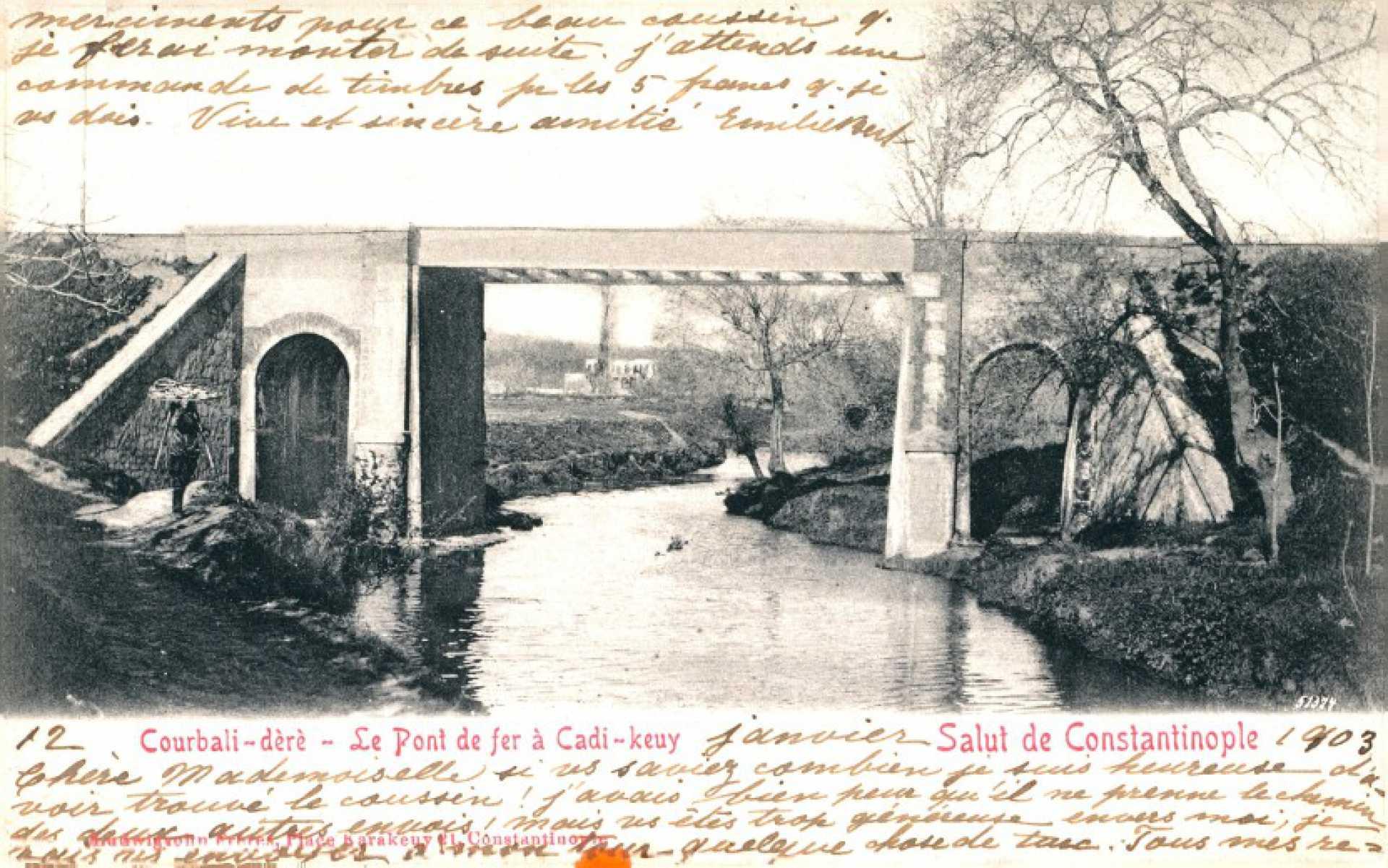 Courbali-dere-Le Pont de fer a Cadi-keuy