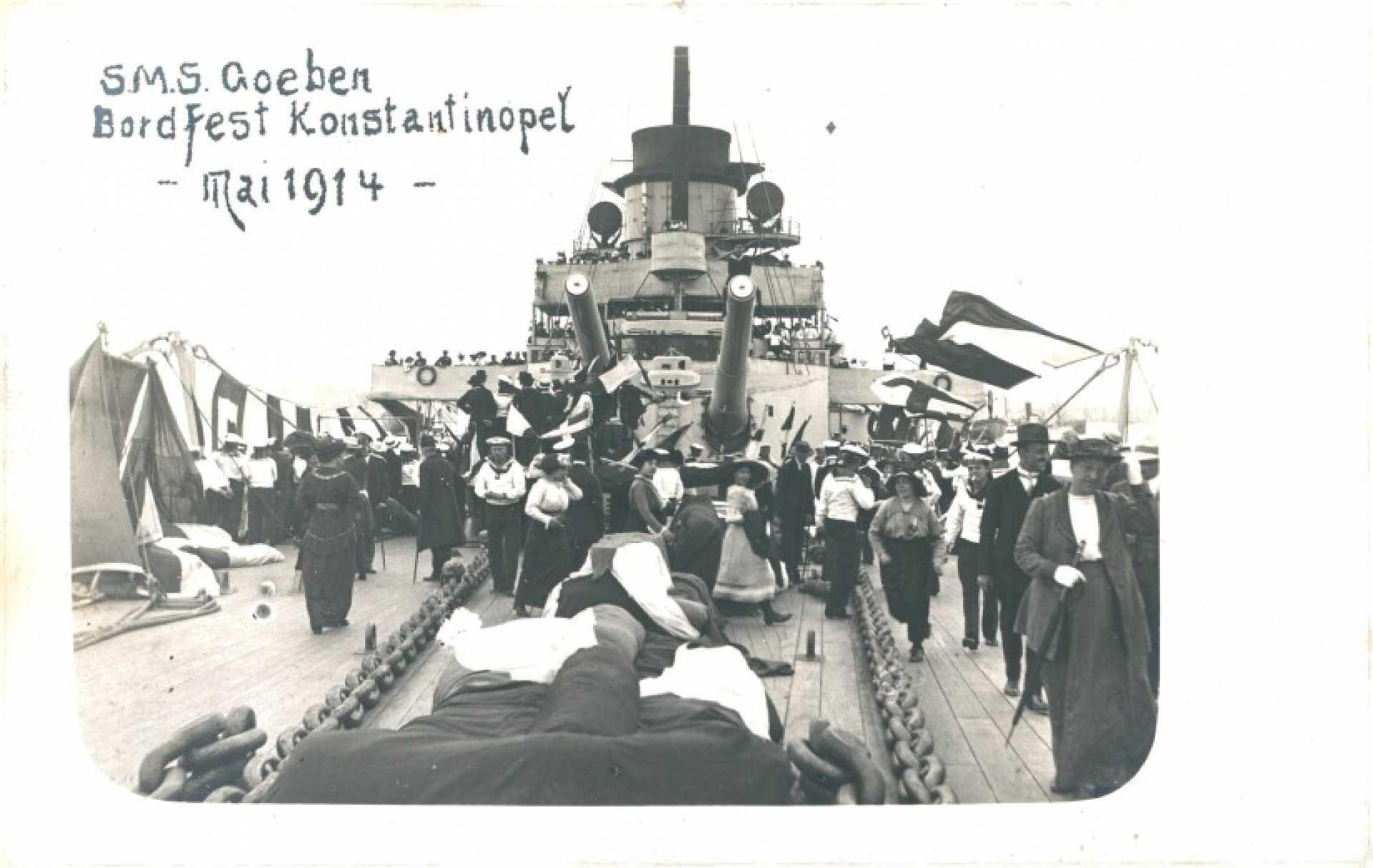 S.M.S. Goeben Bordfest