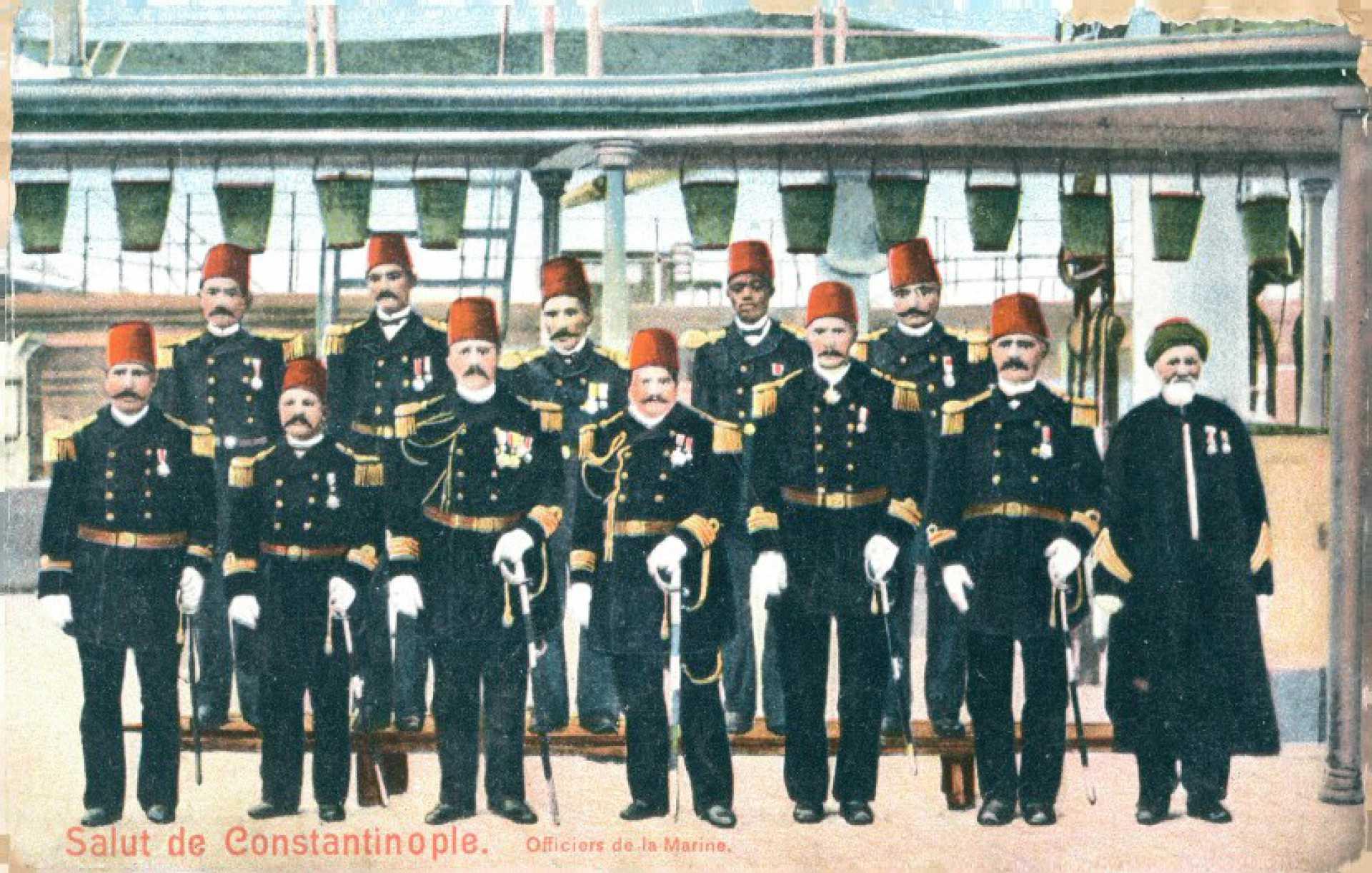 Officiers de la Marine