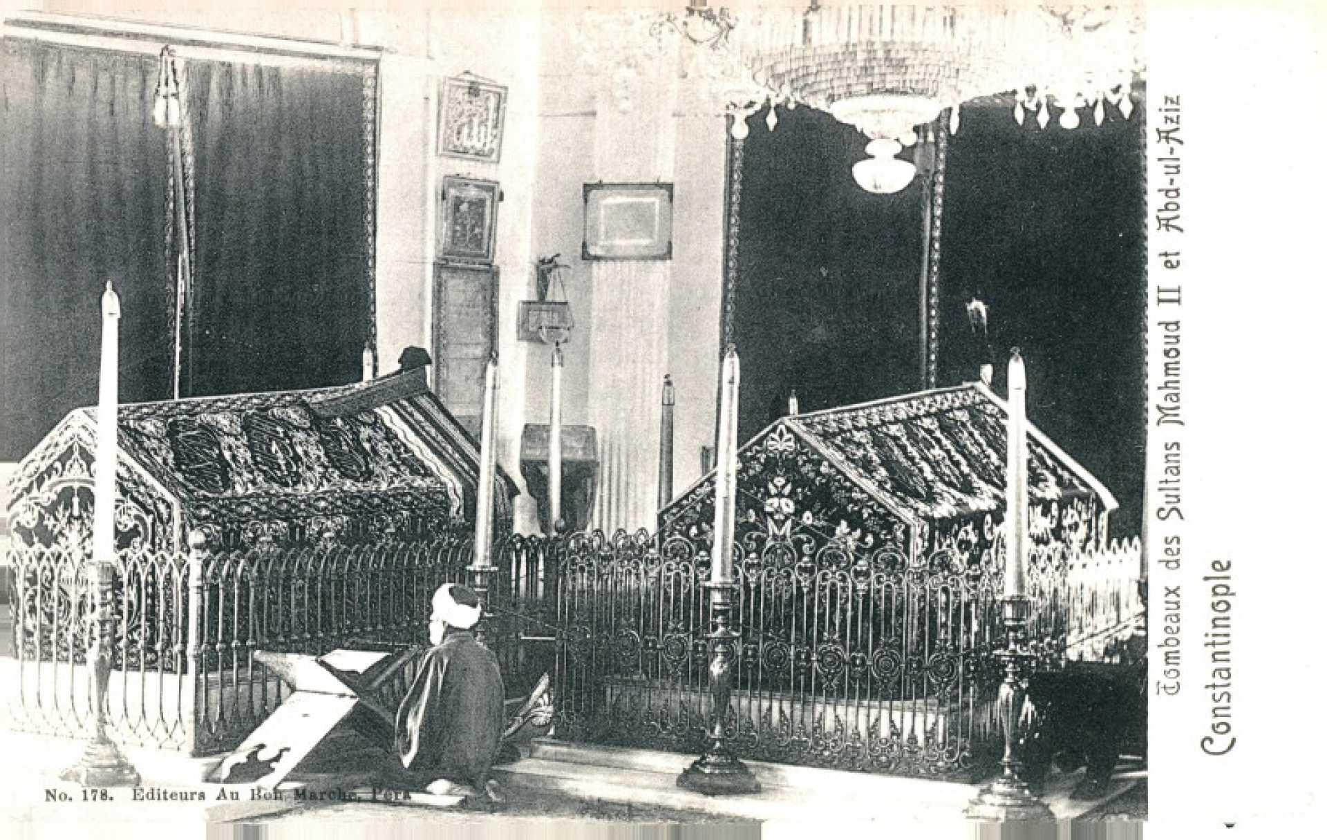 Tombeaux des Sultans Mahmud II et Abd-ul-Aziz