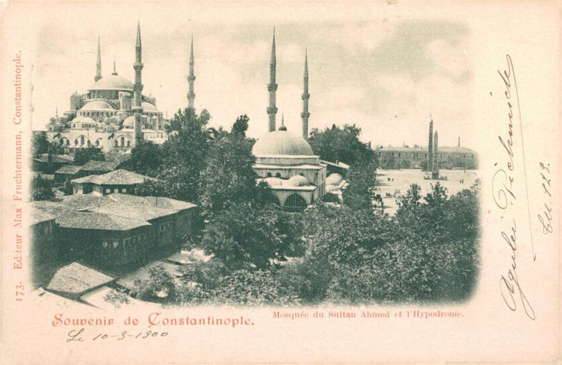 Mosquee du Sultan Ahmed et l'Hypodrome