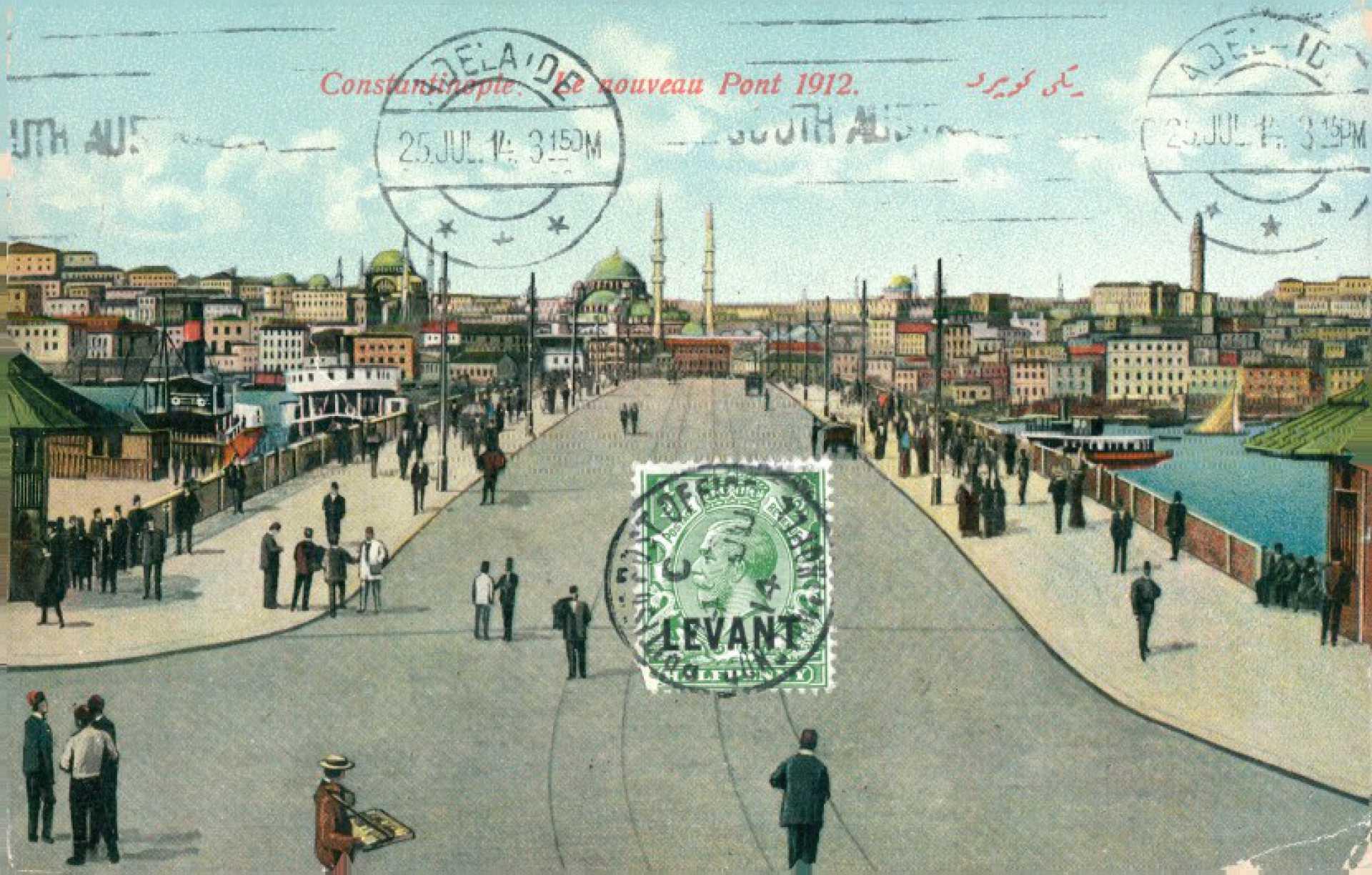 Le nouveau Pont 1912