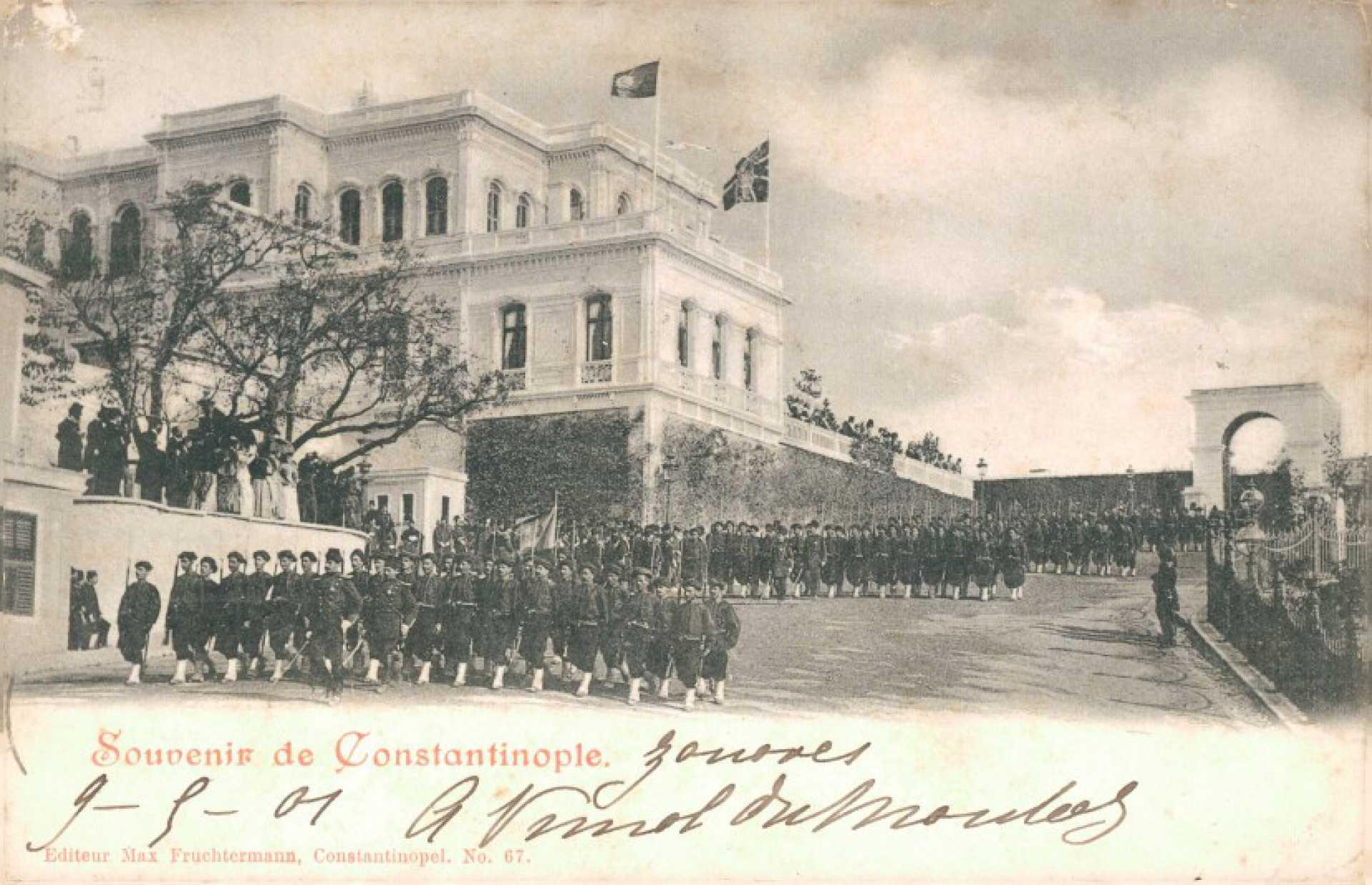 Le regiment des Zouaves