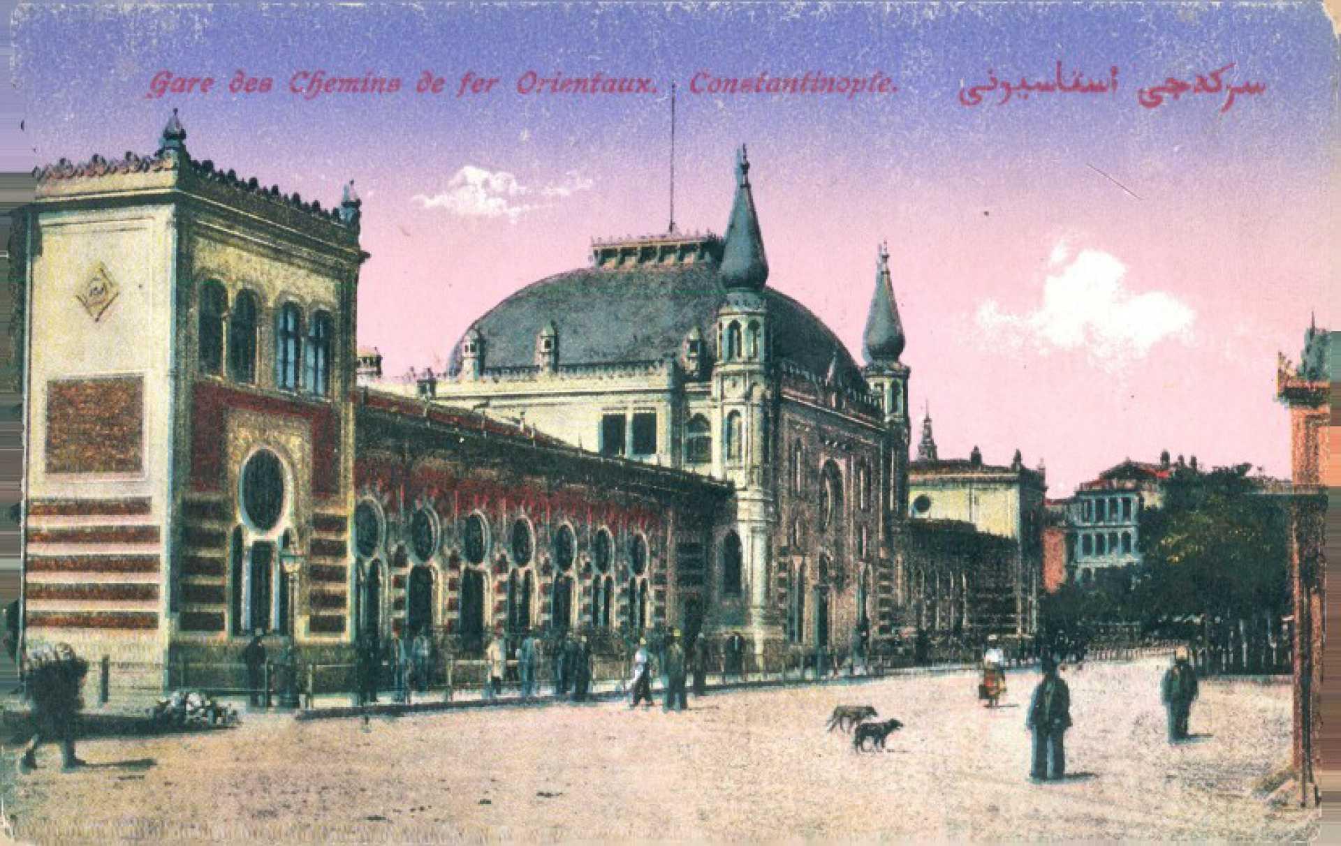 Gare des Chemins de fer Orientaux.