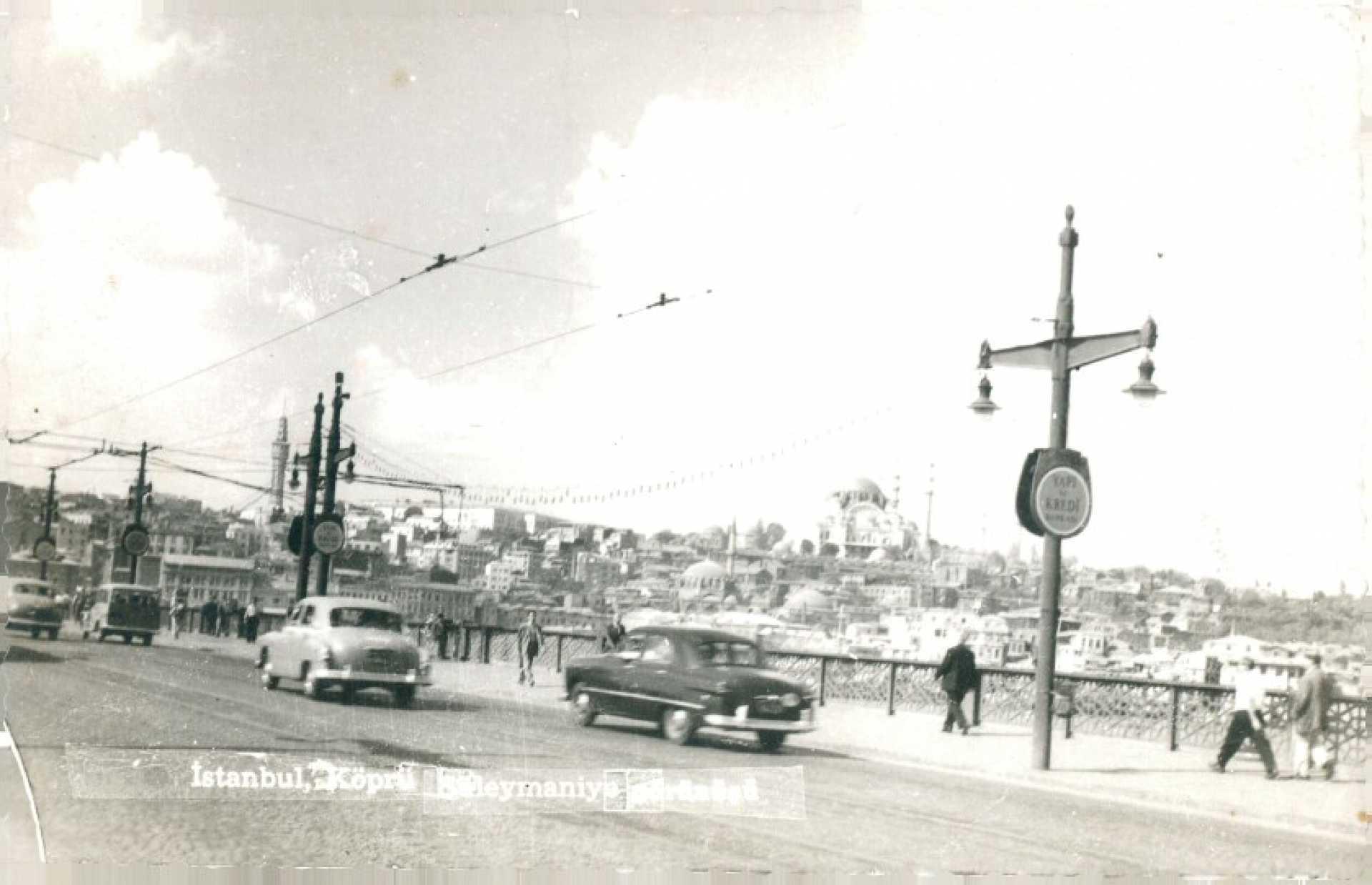 İstanbul. Köprü. Süleymaniye