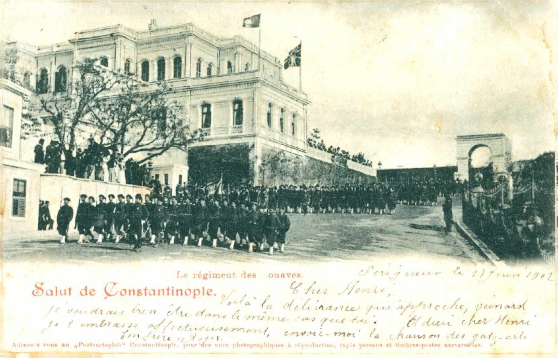 Le régiment des onaves.