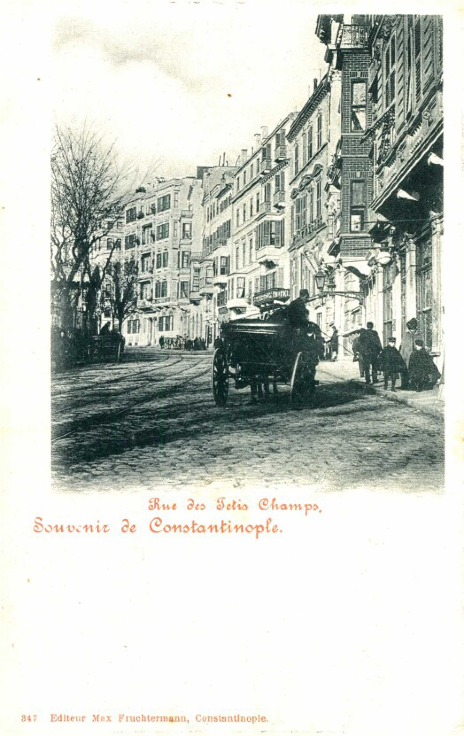 Rue des Jetis Champs.