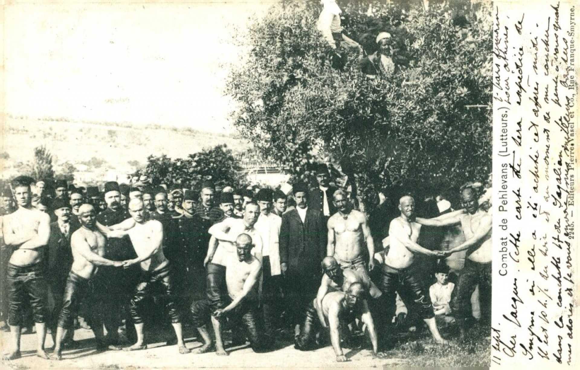 Combat de Pehlivans (Lutteurs)