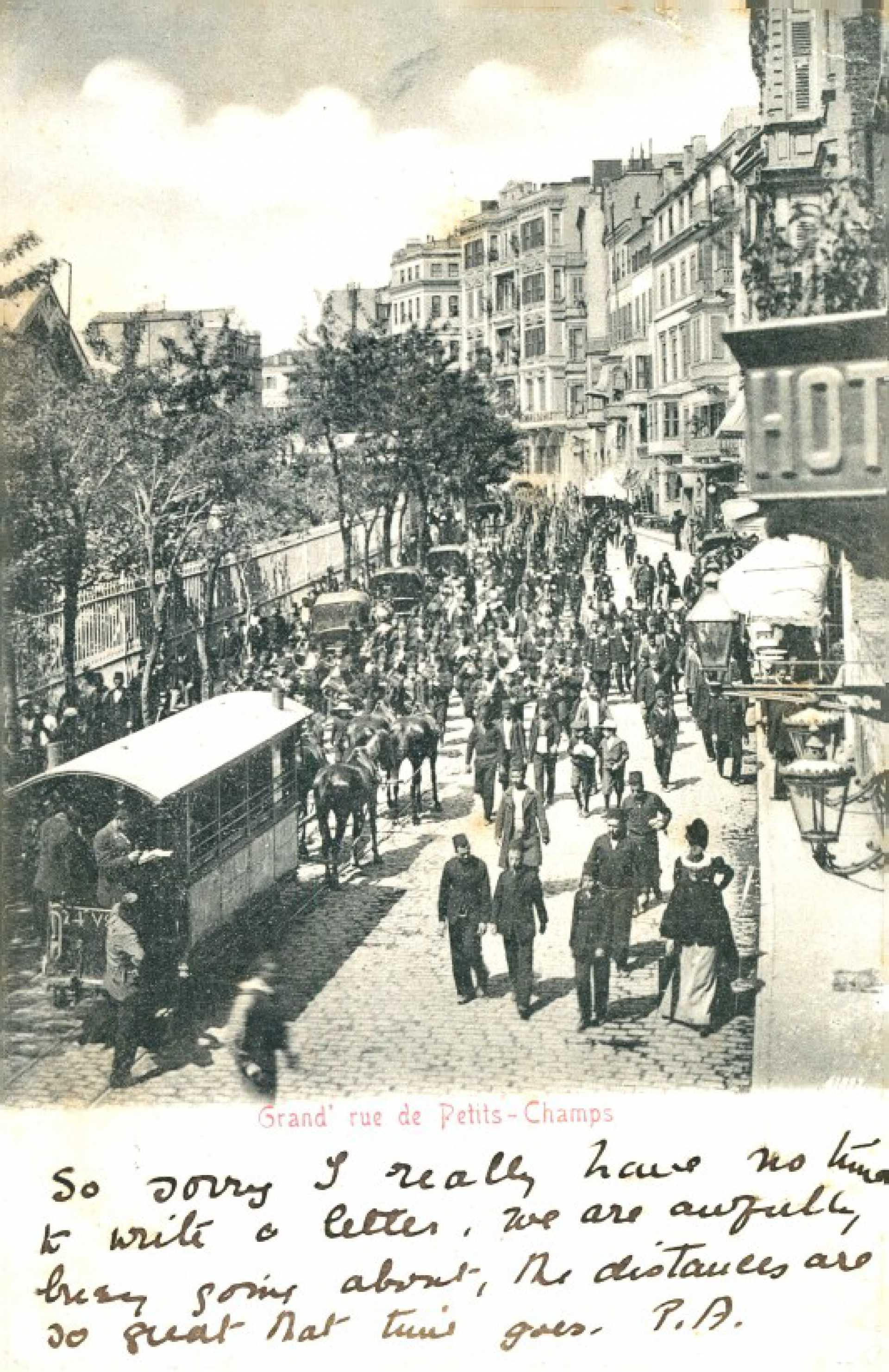 Grand' rue de Petits -Champs